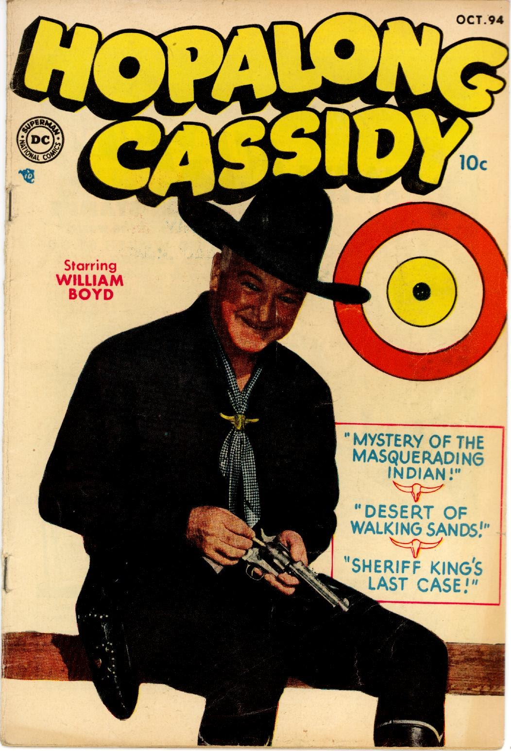 Hopalong Cassidy issue 94 - Page 1