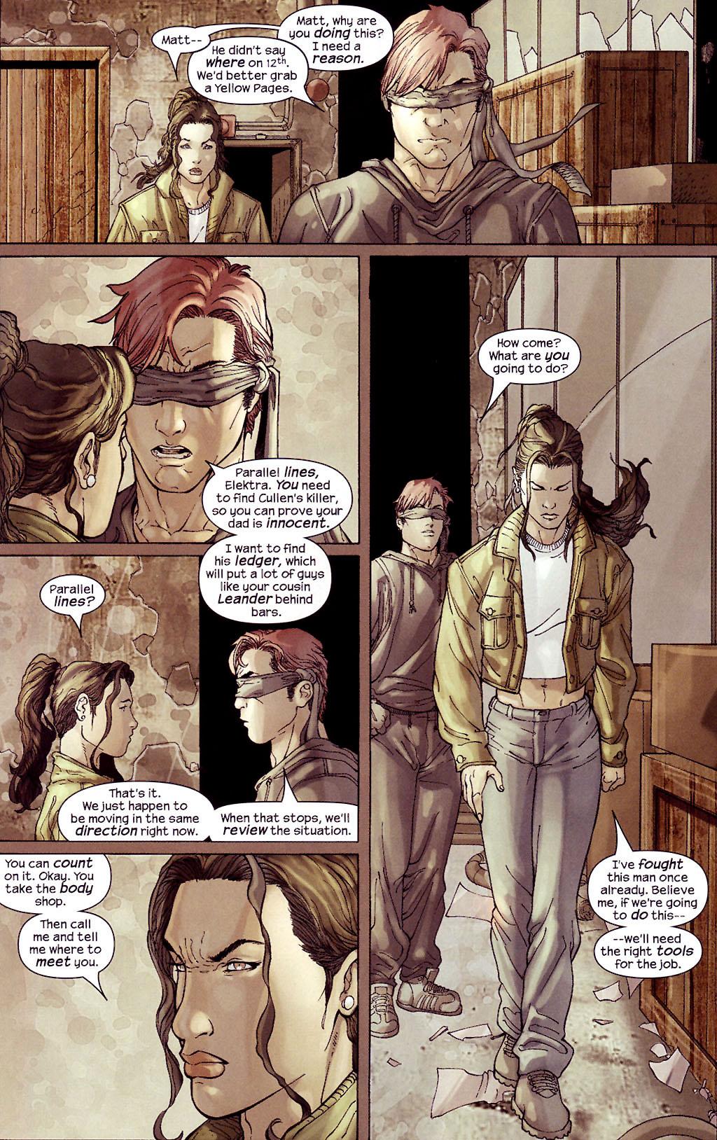 Read online Ultimate Elektra comic -  Issue #4 - 7
