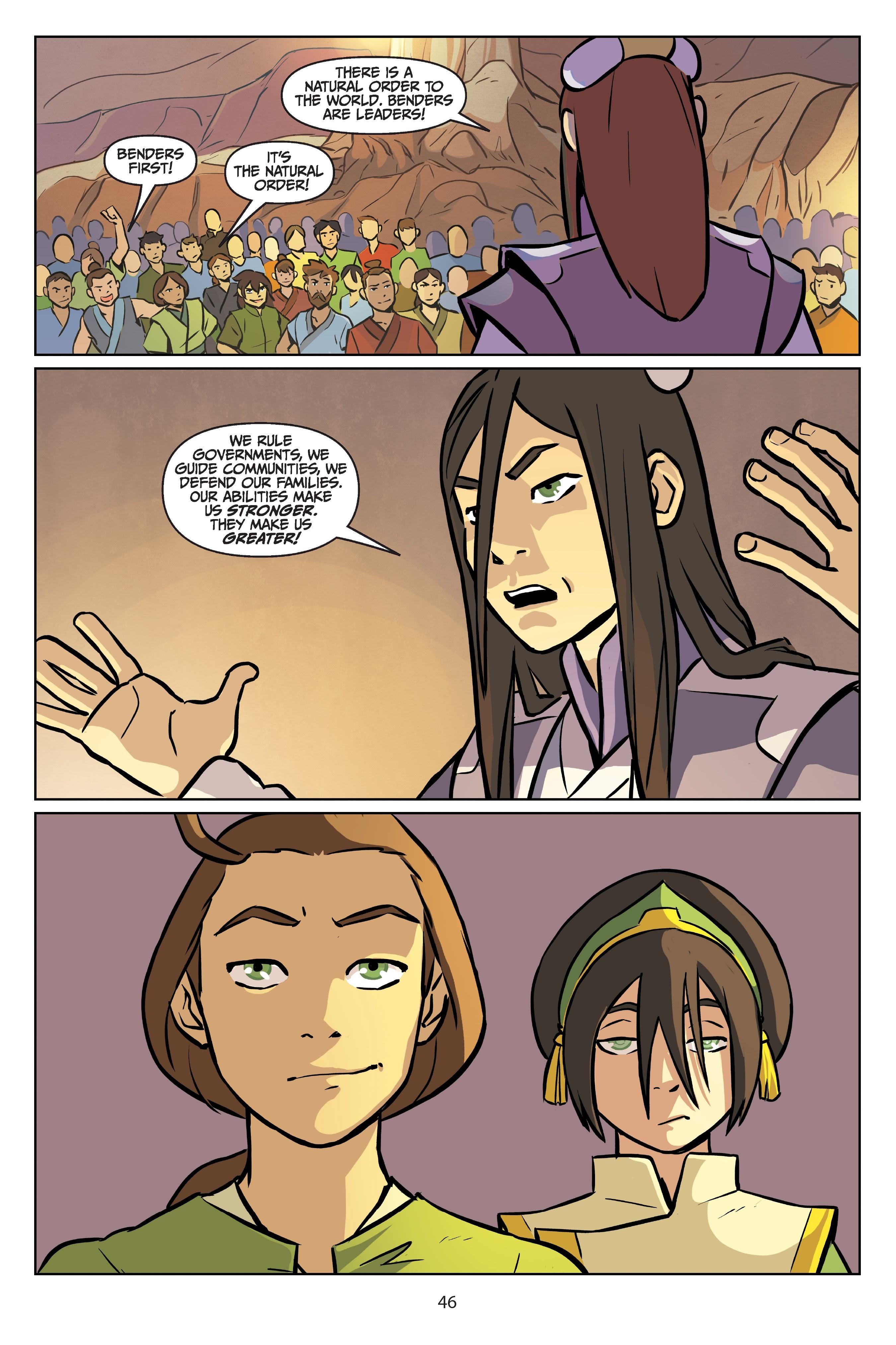 Nickelodeon Avatar: The Last Airbender - Imbalance TPB_2 Page 46