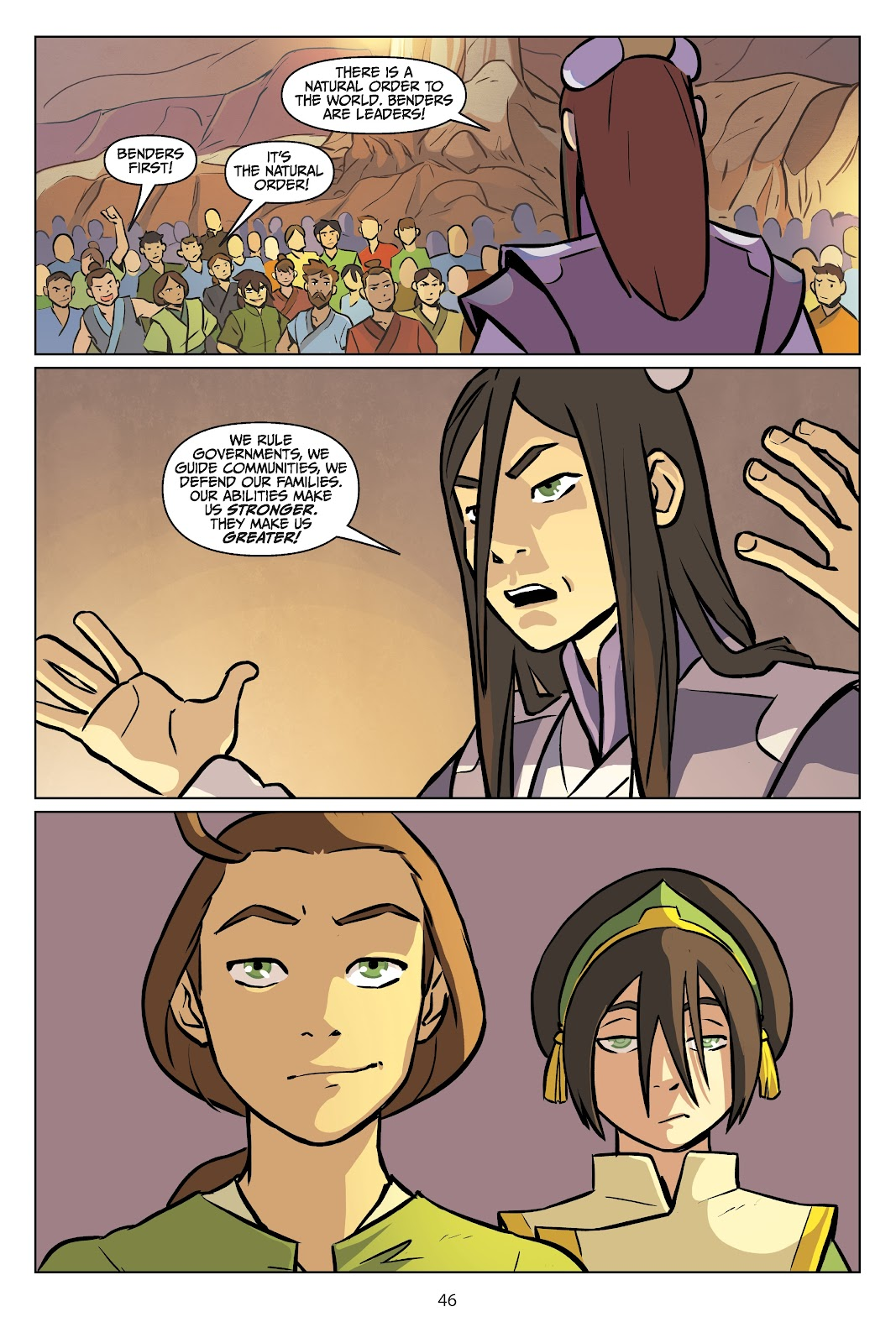 Read online Nickelodeon Avatar: The Last Airbender - Imbalance comic -  Issue # TPB 2 - 47
