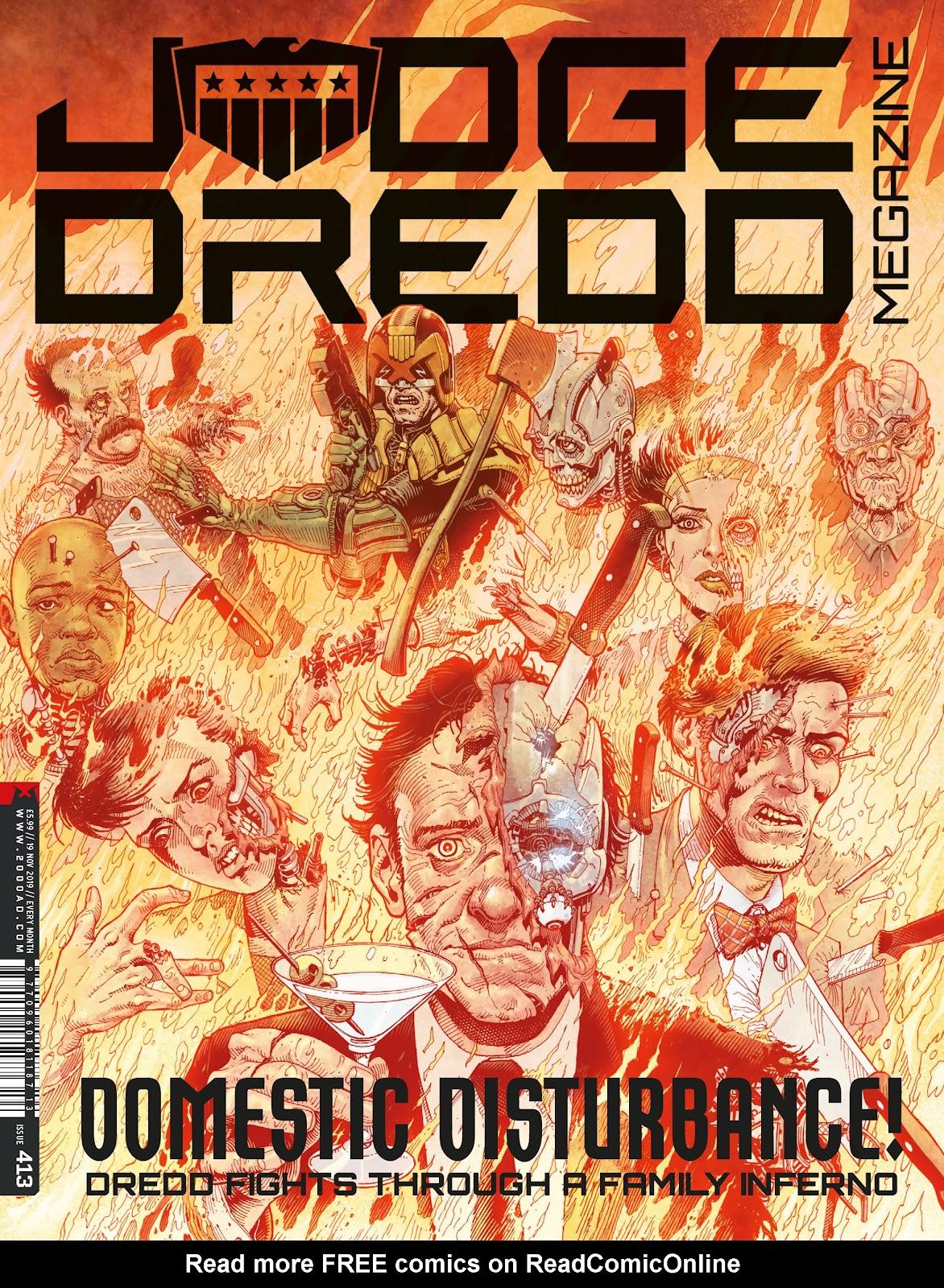 Judge Dredd Megazine (Vol. 5) issue 413 - Page 1