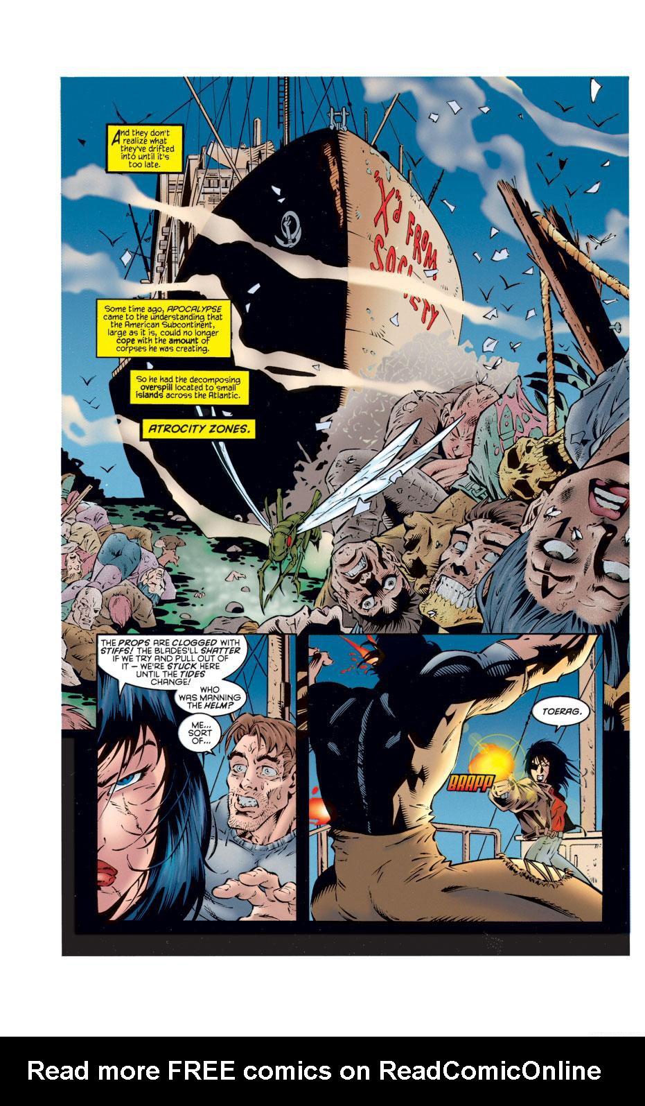Read online X-Calibre comic -  Issue #2 - 19