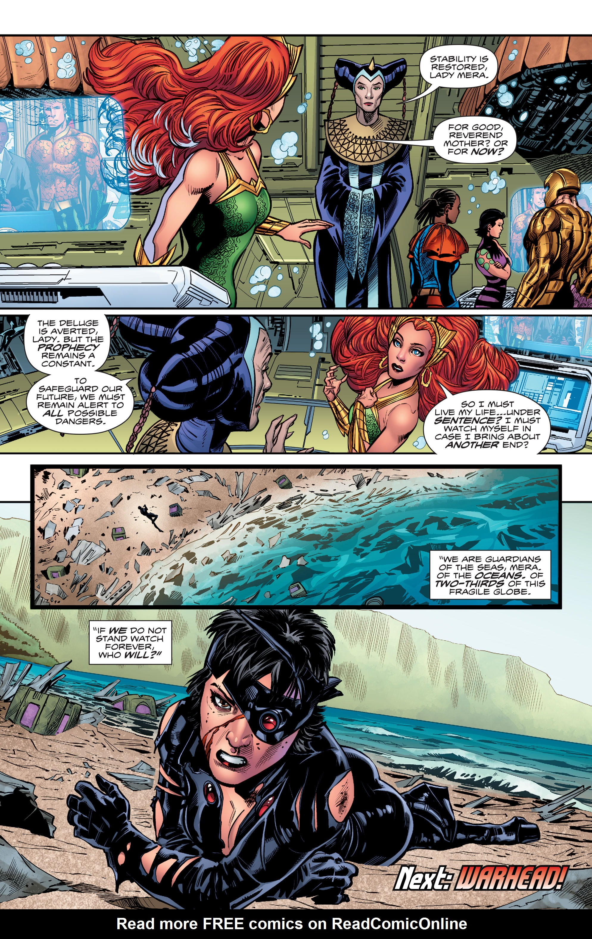 Read online Aquaman (2016) comic -  Issue #15 - 21