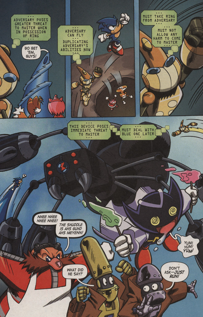 Read online Sonic X comic -  Issue #9 - 14