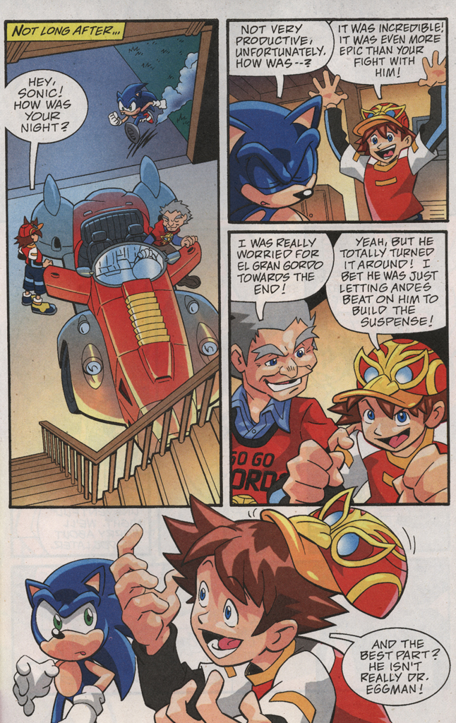 Read online Sonic X comic -  Issue #31 - 31