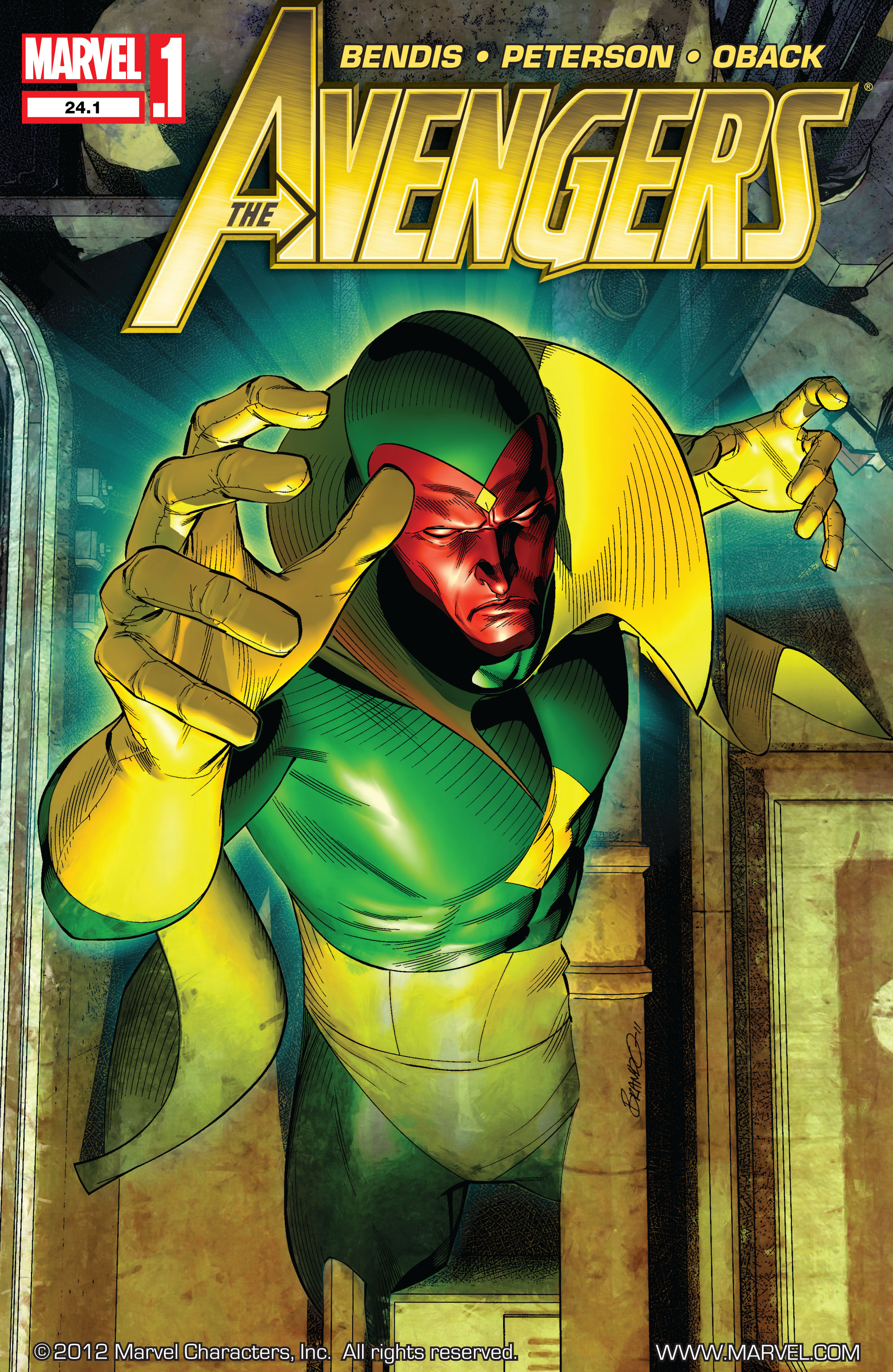 Read online Avengers (2010) comic -  Issue #24.1 - 1