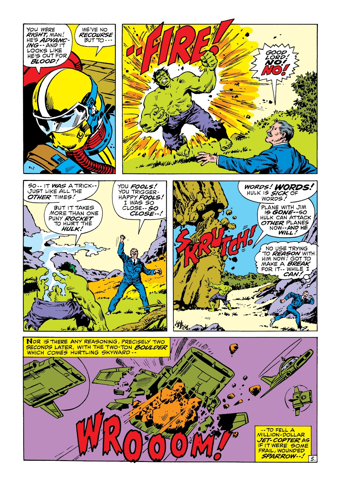 Read online Marvel Masterworks: The Incredible Hulk comic -  Issue # TPB 6 (Part 3) - 39