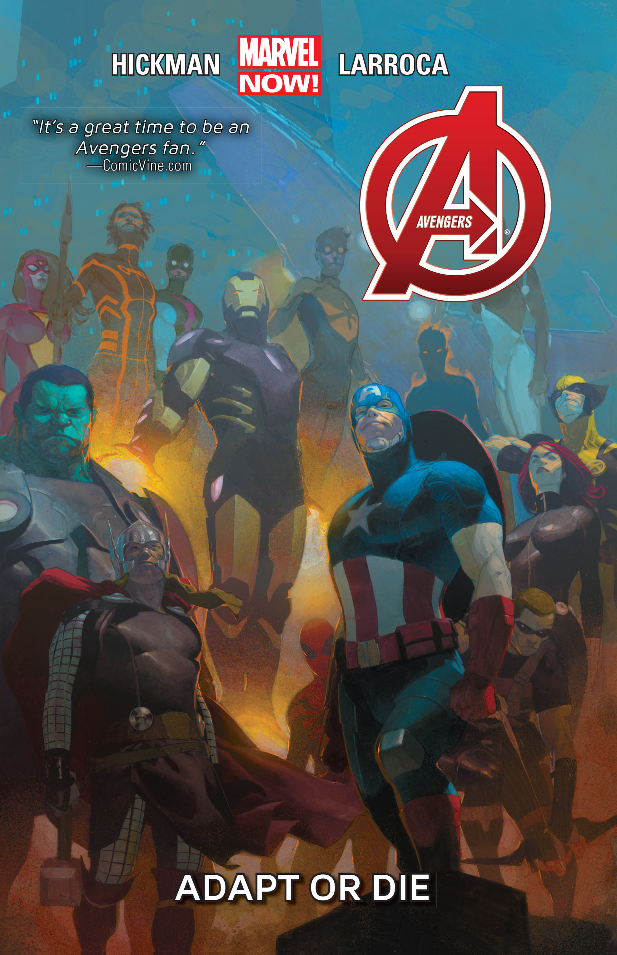 Read online Avengers (2013) comic -  Issue #Avengers (2013) _TPB 5 - 1