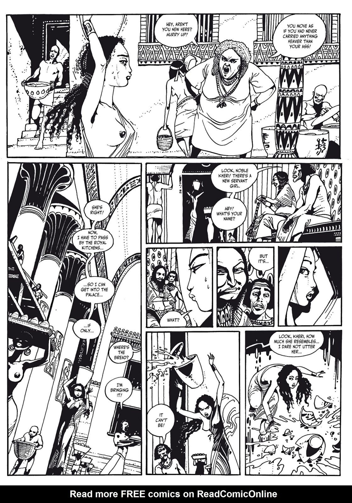 Read online The Egyptian Princesses comic -  Issue # TPB 1 (Part 3) - 31