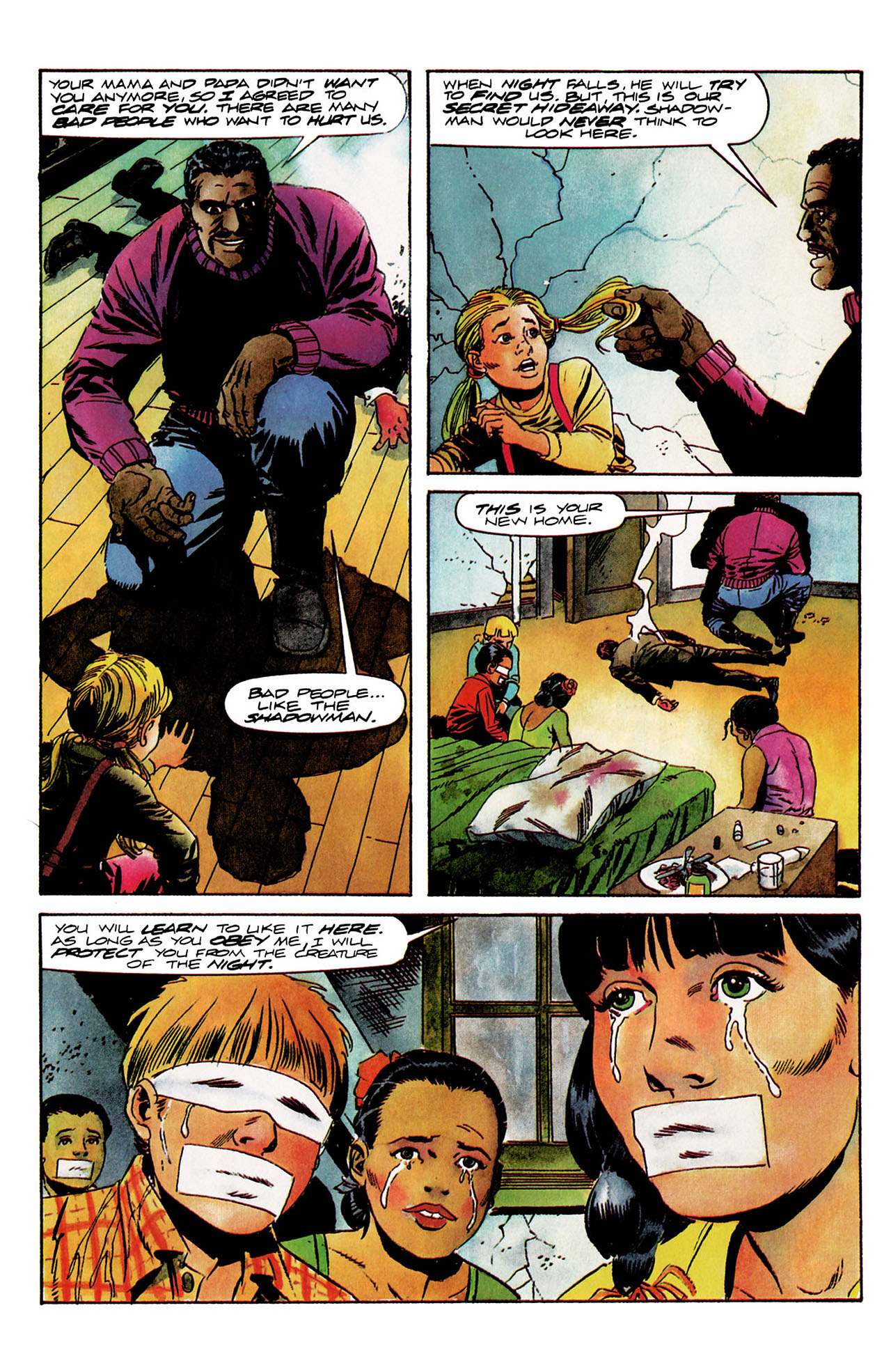 Read online Shadowman (1992) comic -  Issue #9 - 7