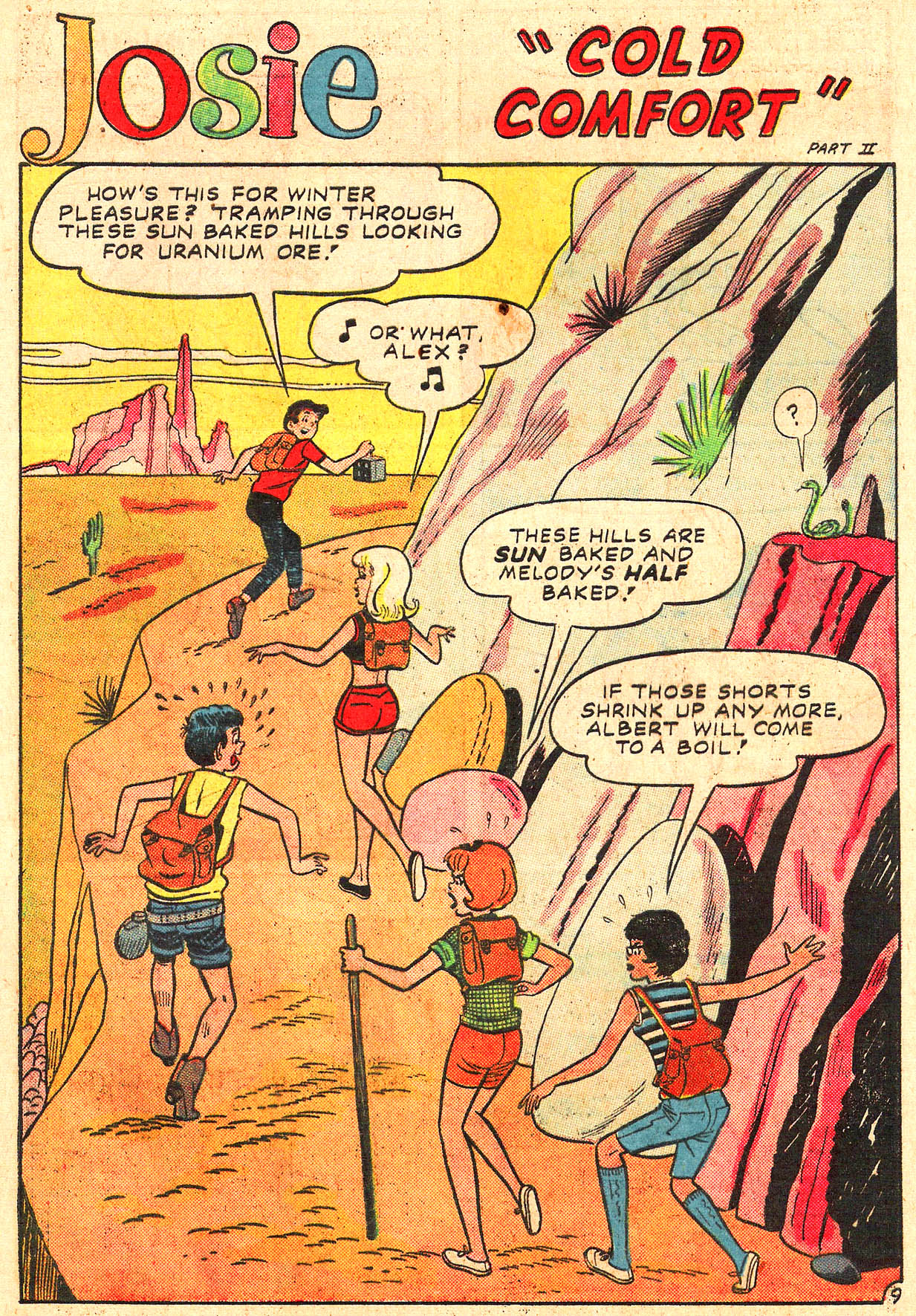 Read online She's Josie comic -  Issue #18 - 13
