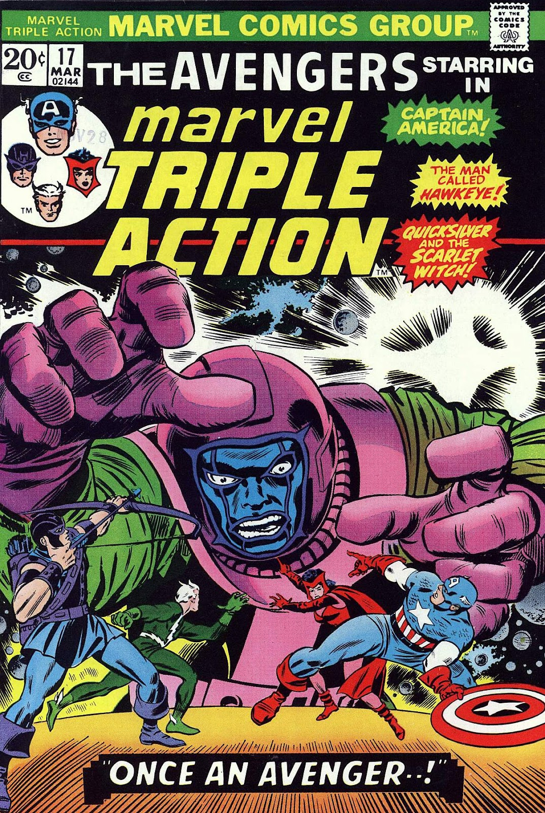 Marvel Triple Action (1972) issue 17 - Page 1