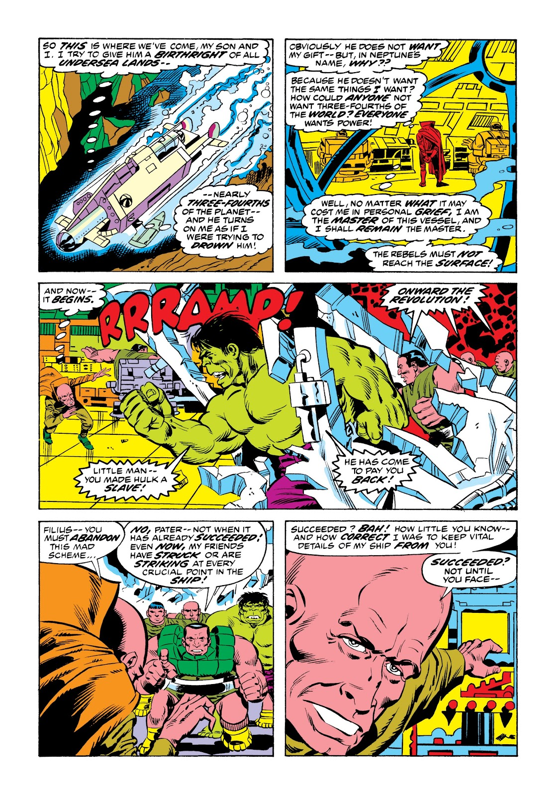 Read online Marvel Masterworks: The Incredible Hulk comic -  Issue # TPB 9 (Part 2) - 86