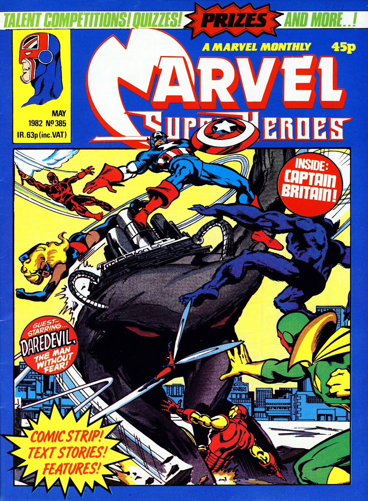 Marvel Super-Heroes (1979) issue 385 - Page 1