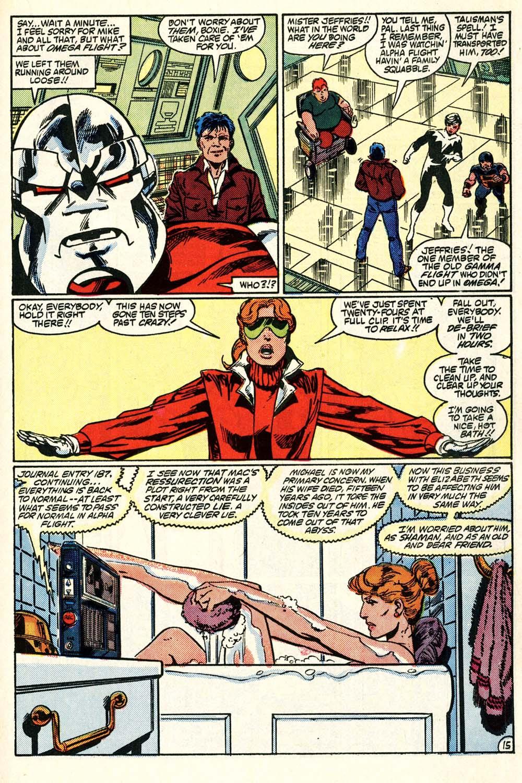 Read online Alpha Flight (1983) comic -  Issue #28 - 16