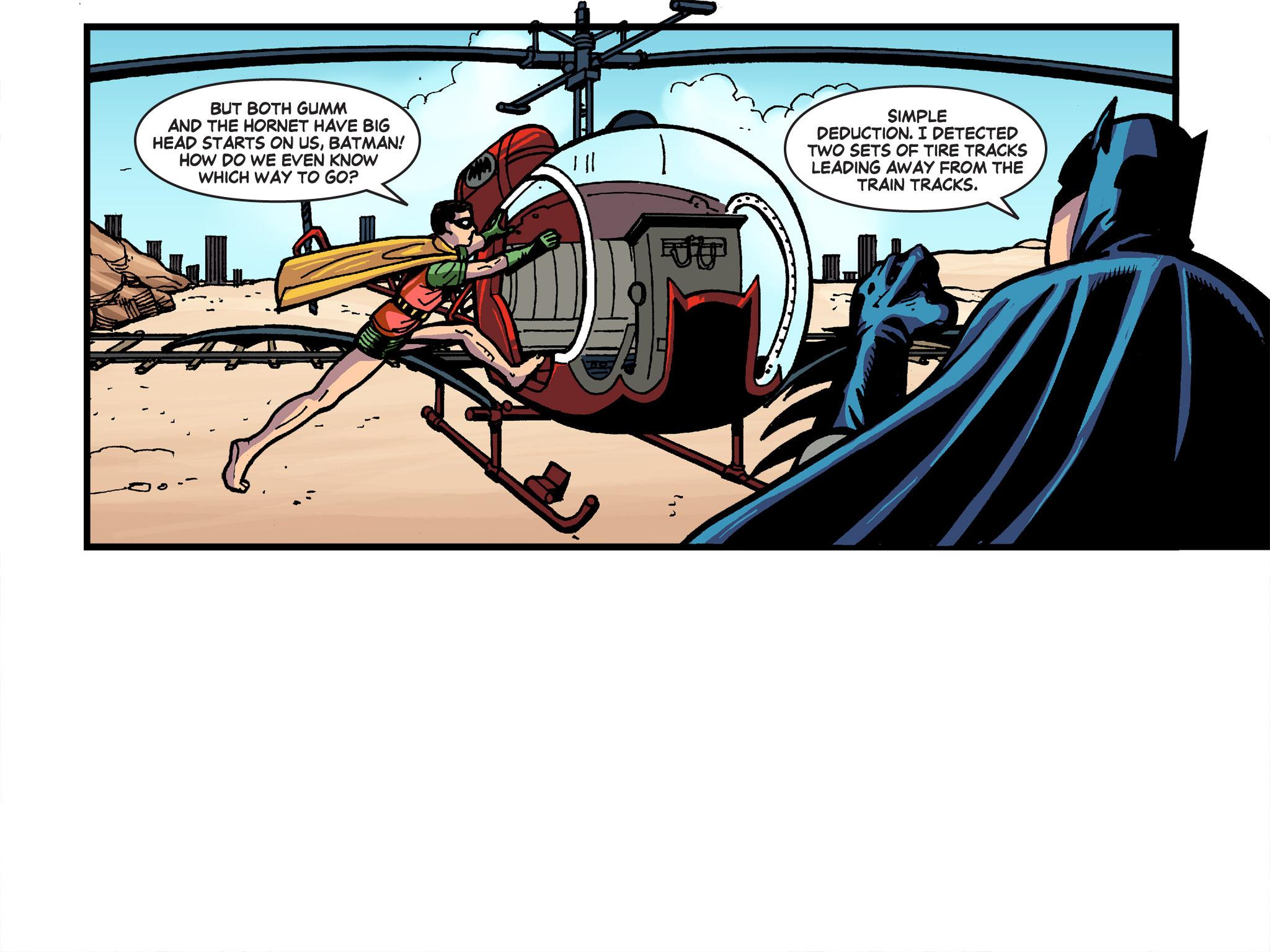 Read online Batman '66 Meets the Green Hornet [II] comic -  Issue #4 - 34