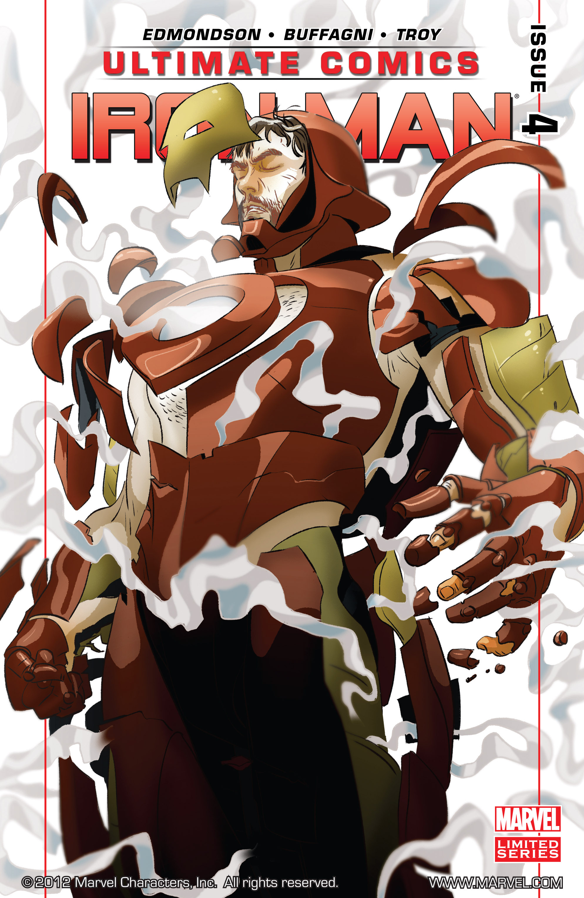 Read online Ultimate Comics Iron Man comic -  Issue #4 - 1