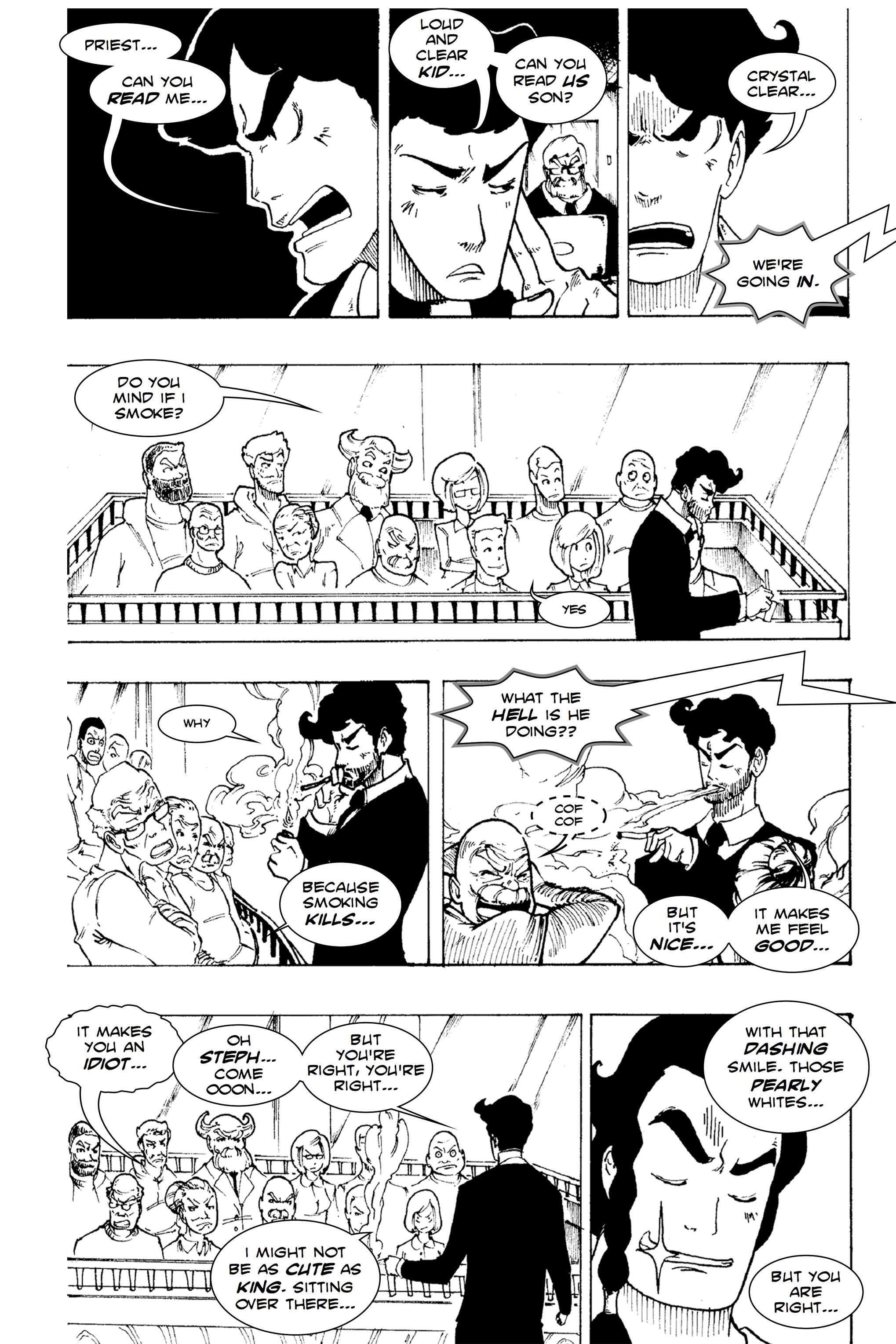 Read online Silvertongue 30xx Vol. 1 comic -  Issue # Full - 43