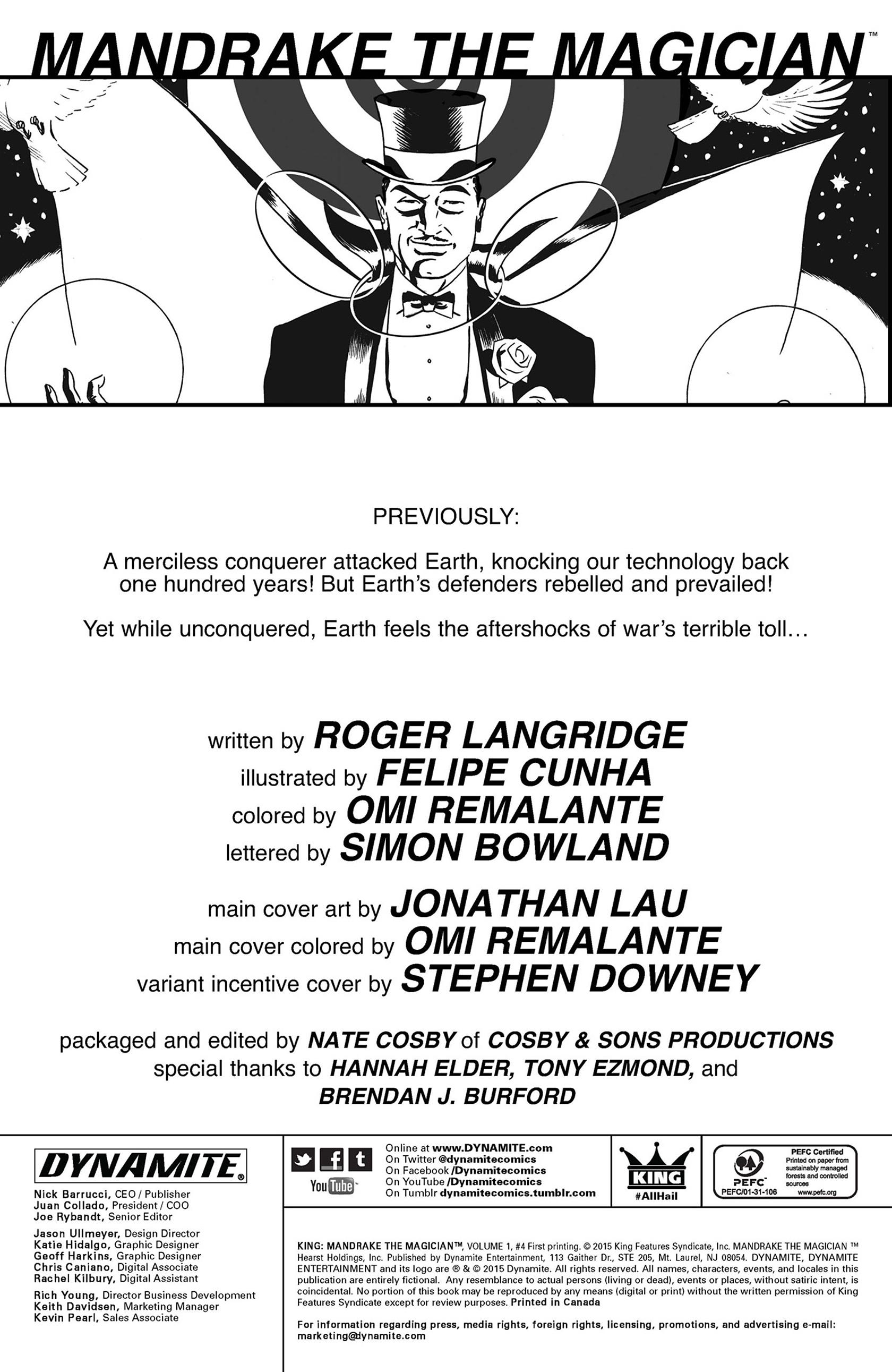 King: Mandrake the Magician 4 Page 2