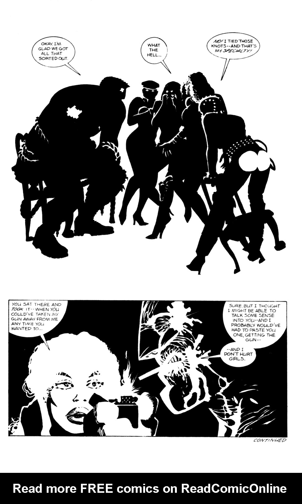 Read online Sin City comic -  Issue #12 - 8