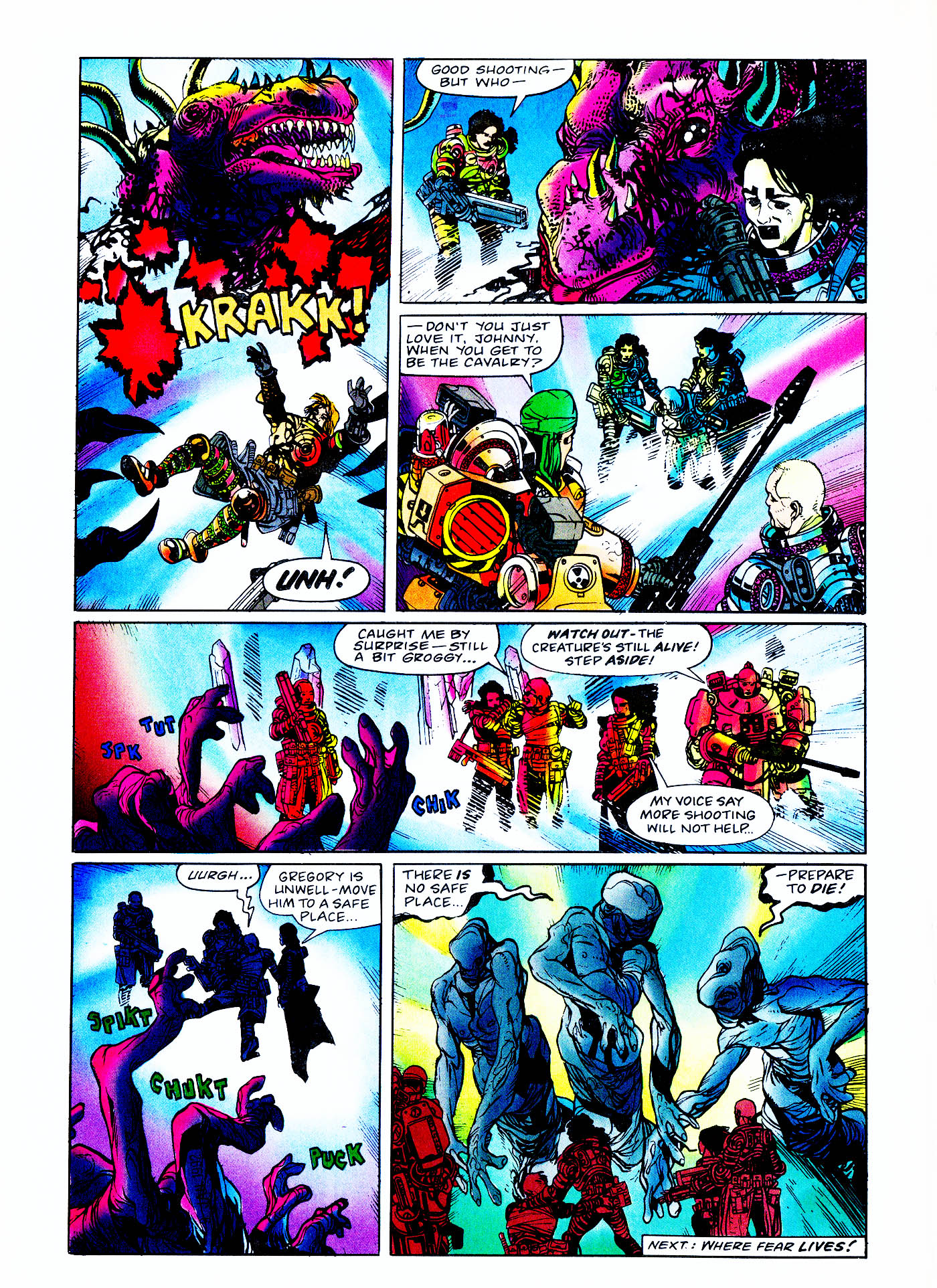 Read online Overkill comic -  Issue #2 - 34