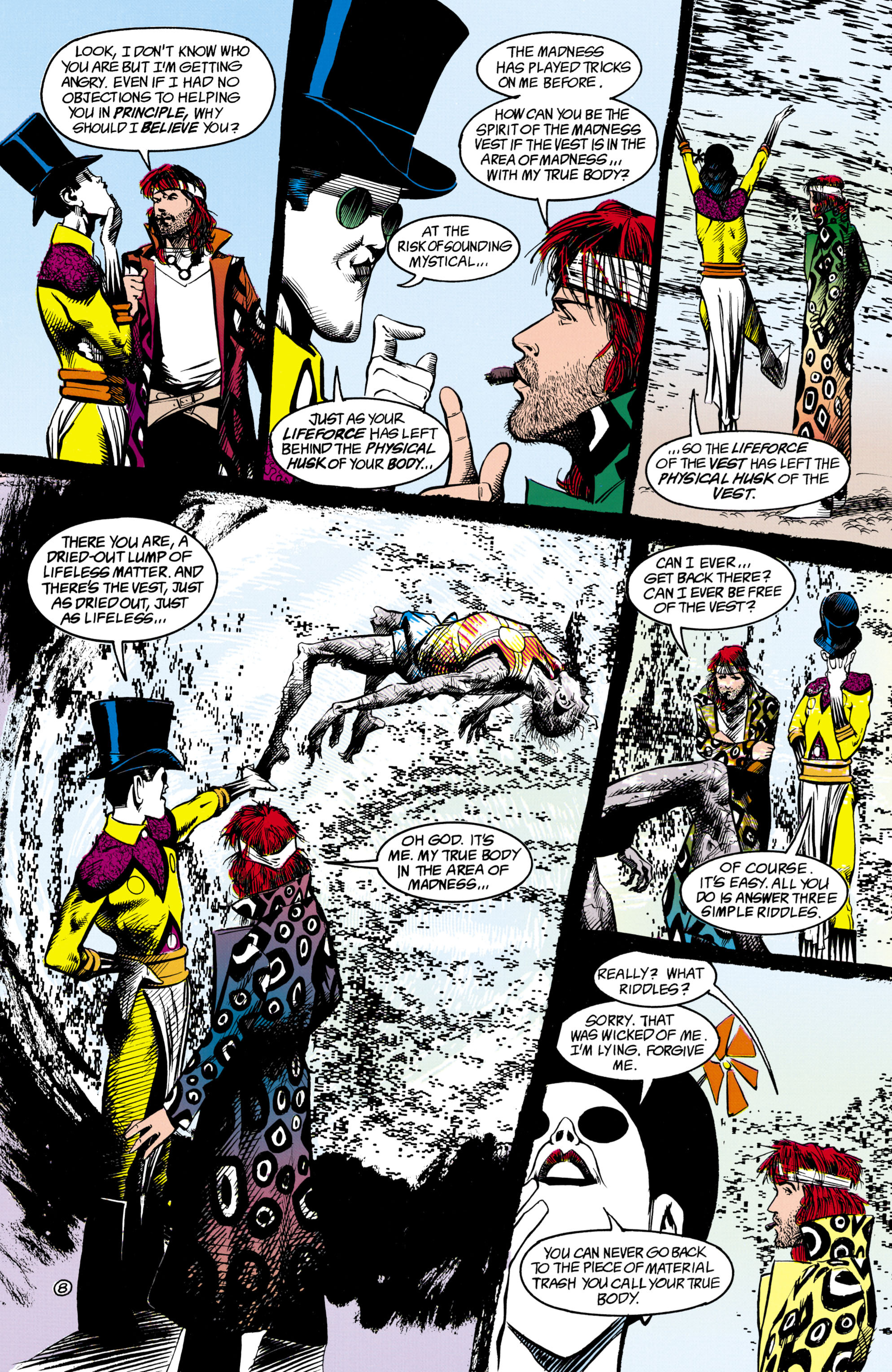 Read online Shade, the Changing Man comic -  Issue #16 - 8