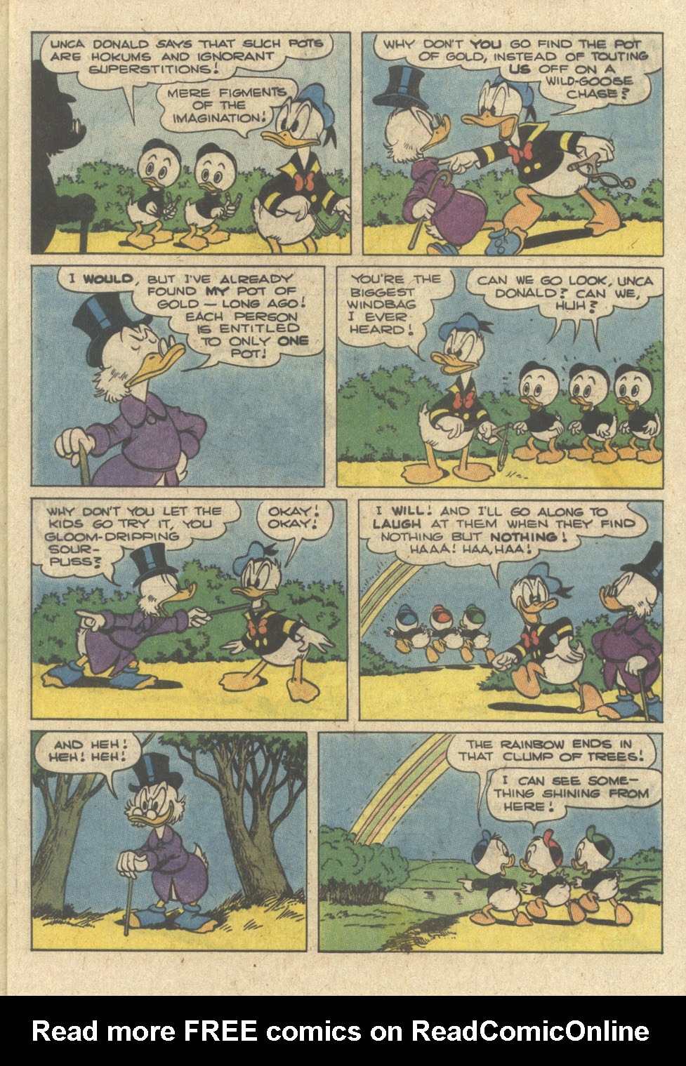 Read online Uncle Scrooge (1953) comic -  Issue #240 - 5