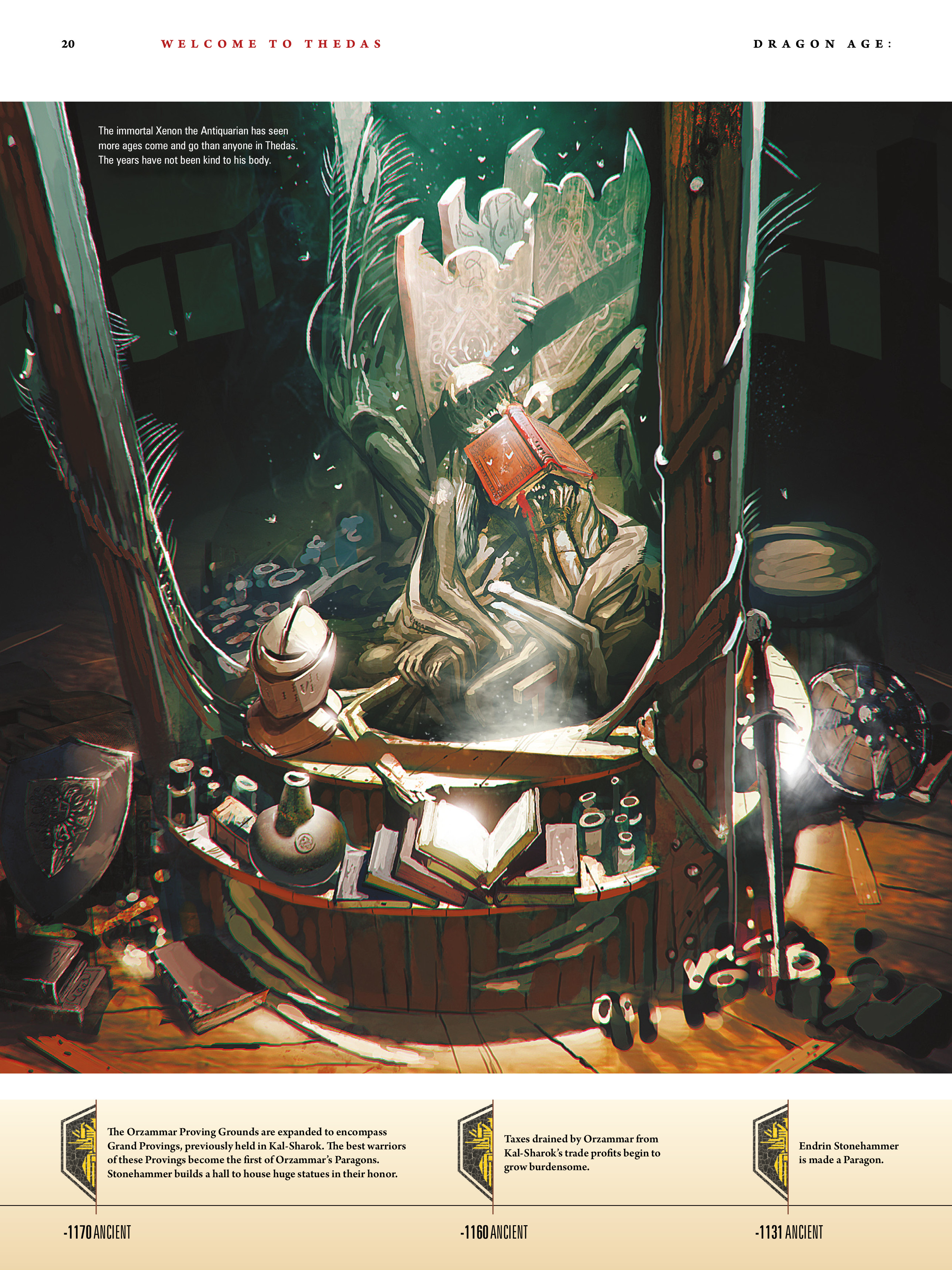 Read online Dragon Age: The World of Thedas comic -  Issue # TPB 1 - 16