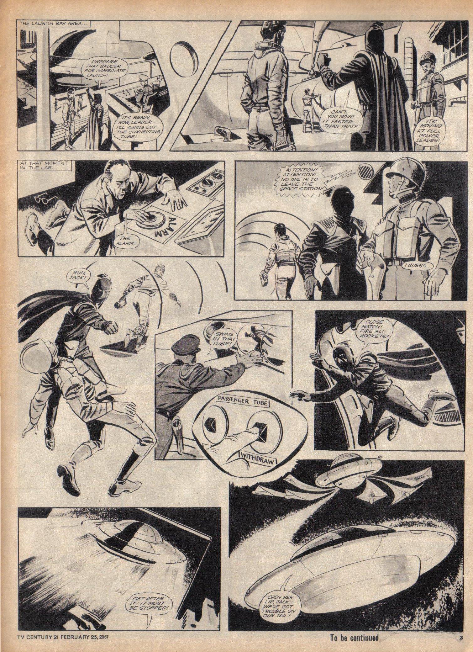 Read online TV Century 21 (TV 21) comic -  Issue #110 - 3