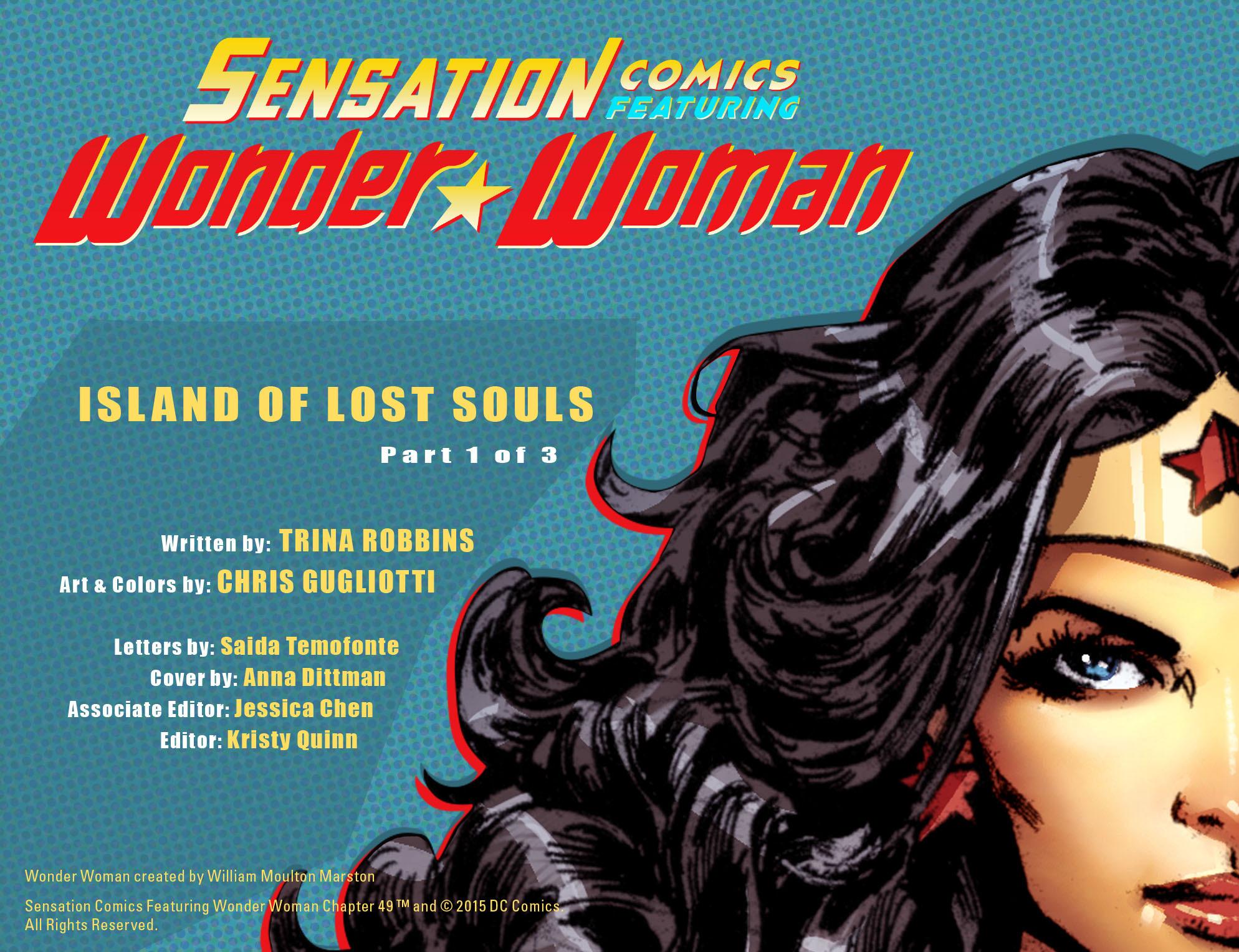 Read online Sensation Comics Featuring Wonder Woman comic -  Issue #49 - 3