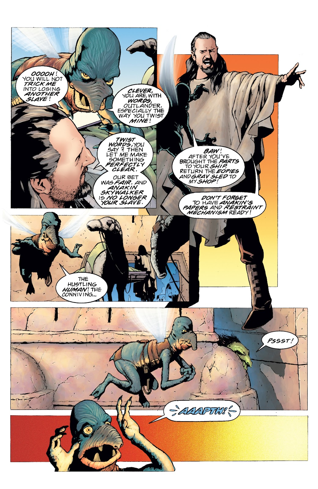 Read online Star Wars Legends: Rise of the Sith - Epic Collection comic -  Issue # TPB 2 (Part 4) - 97