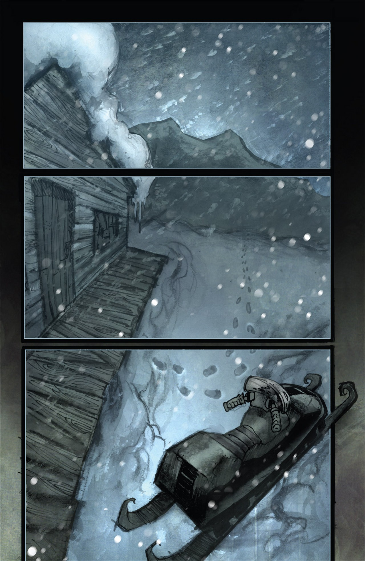 Read online 30 Days of Night (2011) comic -  Issue #3 - 24