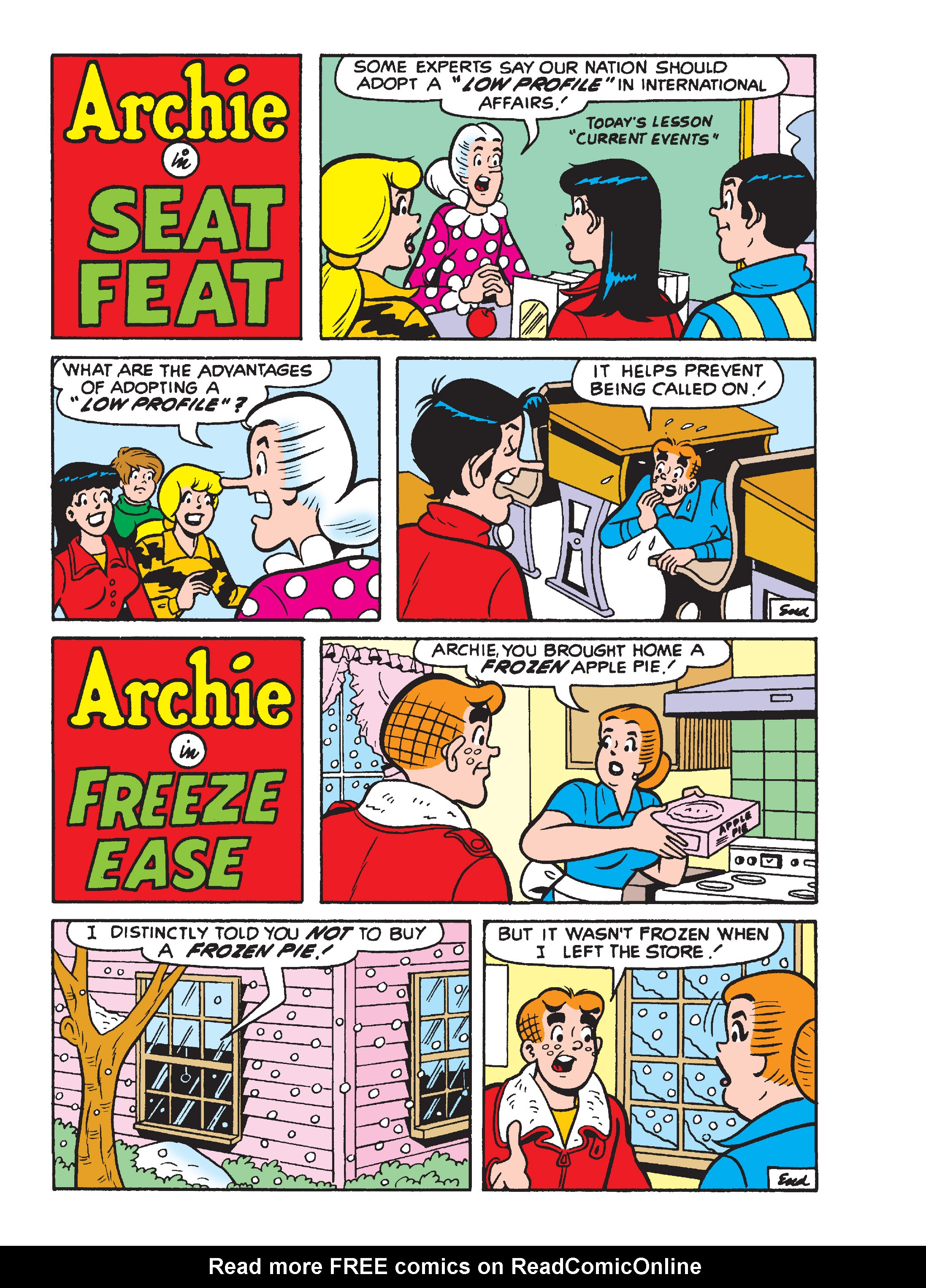 Read online World of Archie Double Digest comic -  Issue #55 - 59