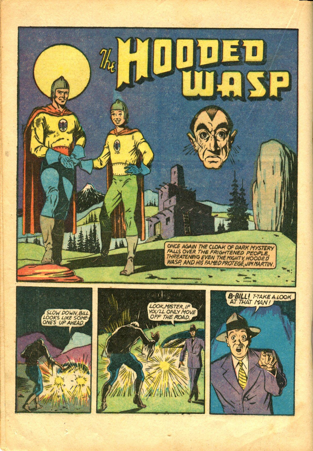 Read online Shadow Comics comic -  Issue #10 - 38