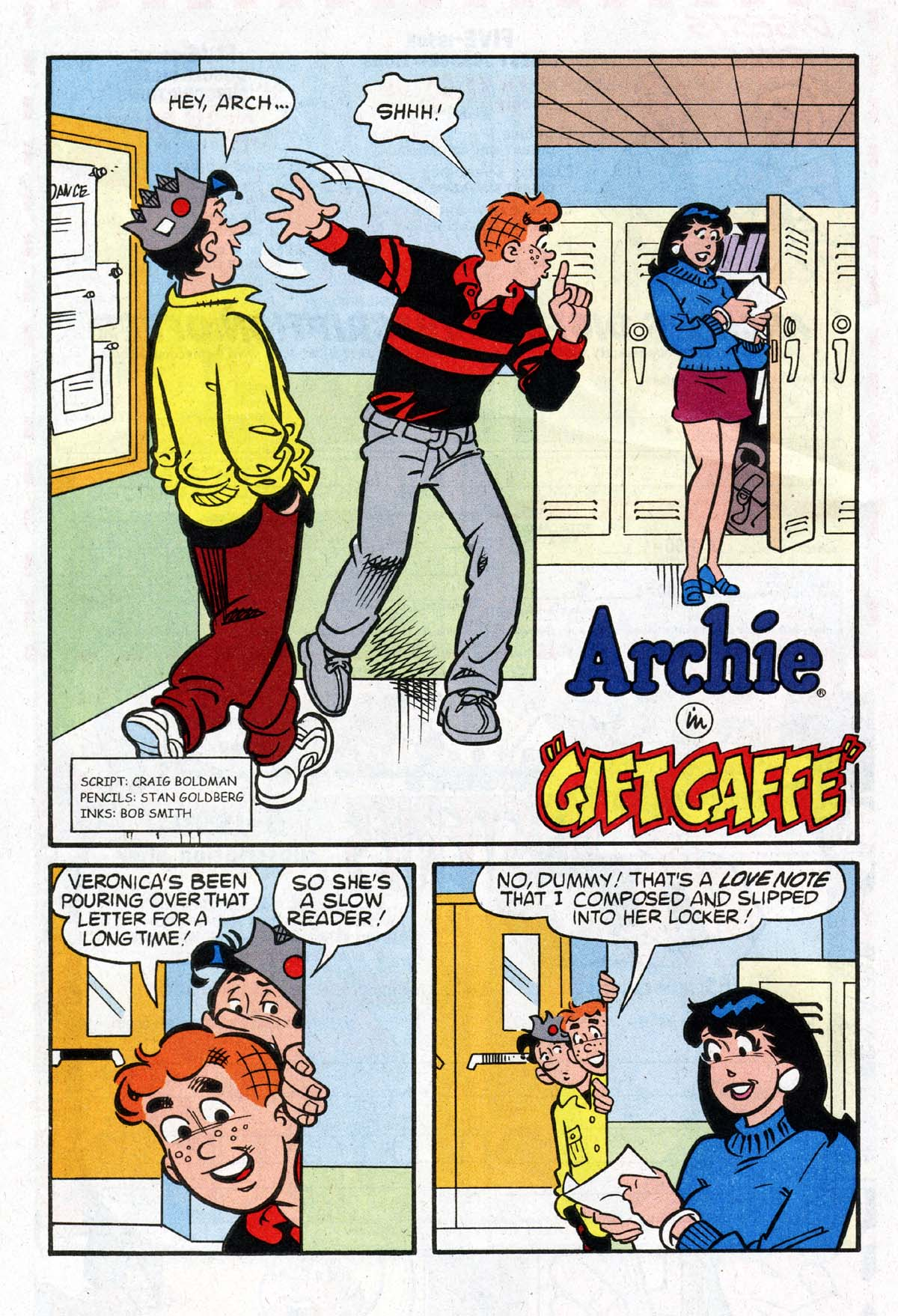 Read online Archie (1960) comic -  Issue #529 - 16