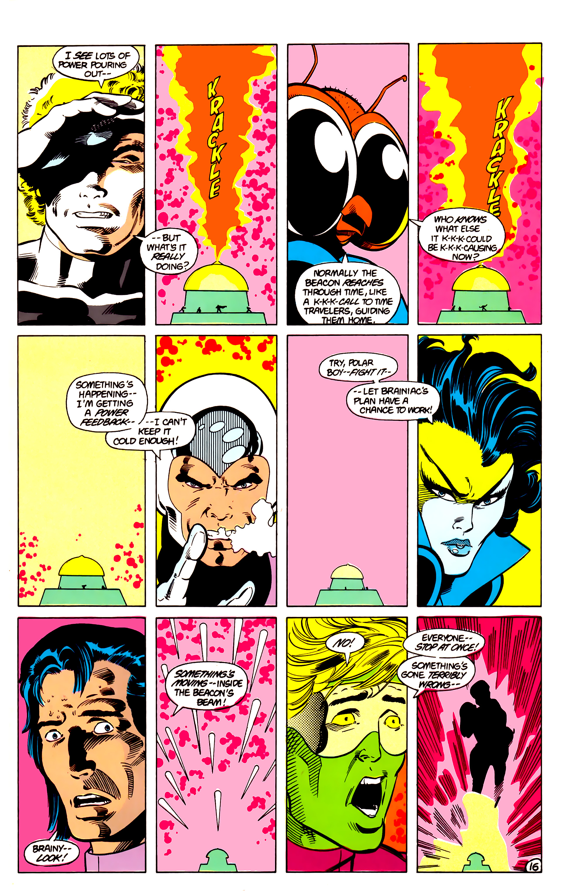 Legion of Super-Heroes (1984) 18 Page 16