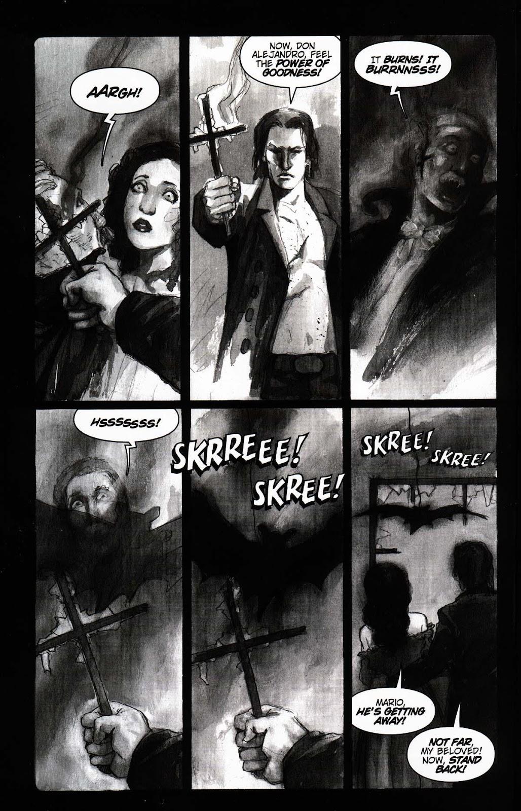 Read online Vampire the Masquerade comic -  Issue # Toreador - 8