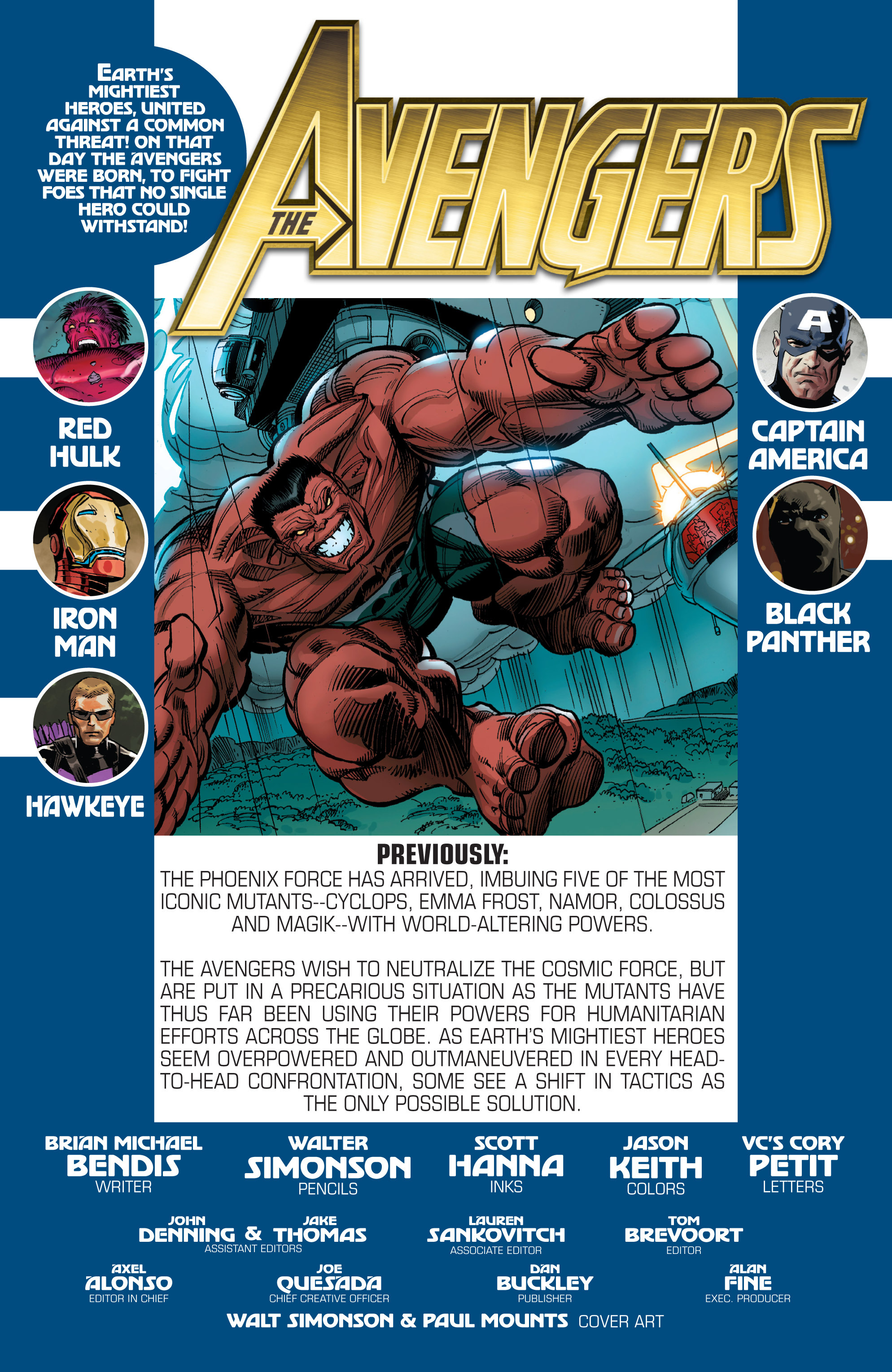 Read online Avengers (2010) comic -  Issue #28 - 2