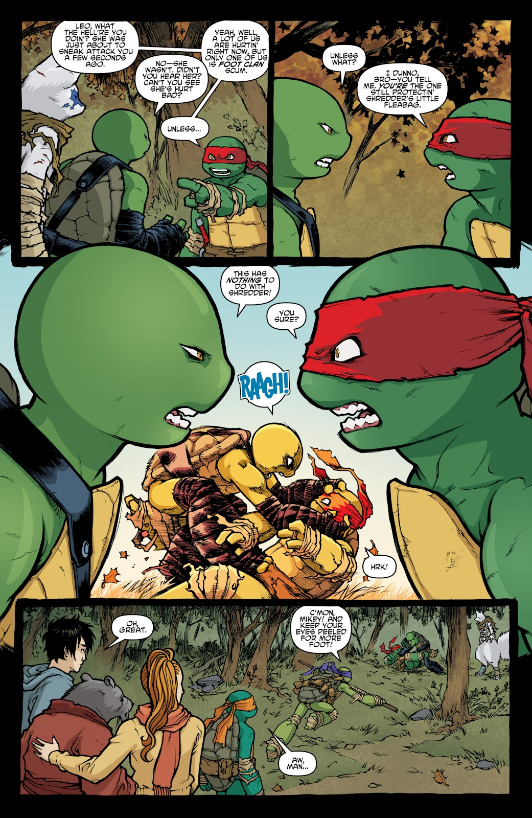 Read online Teenage Mutant Ninja Turtles: The IDW Collection comic -  Issue # TPB 4 (Part 1) - 16