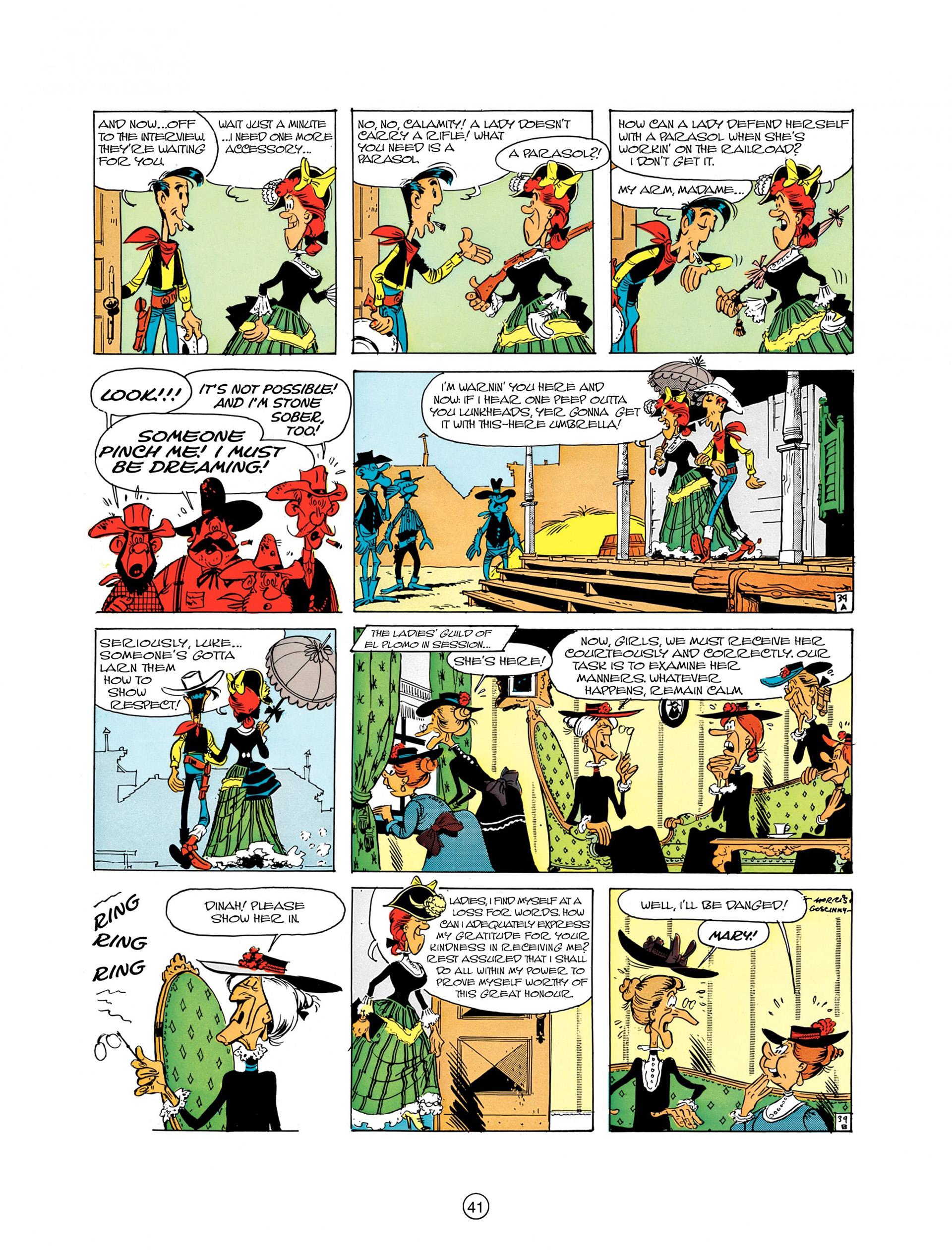 Read online A Lucky Luke Adventure comic -  Issue #8 - 41