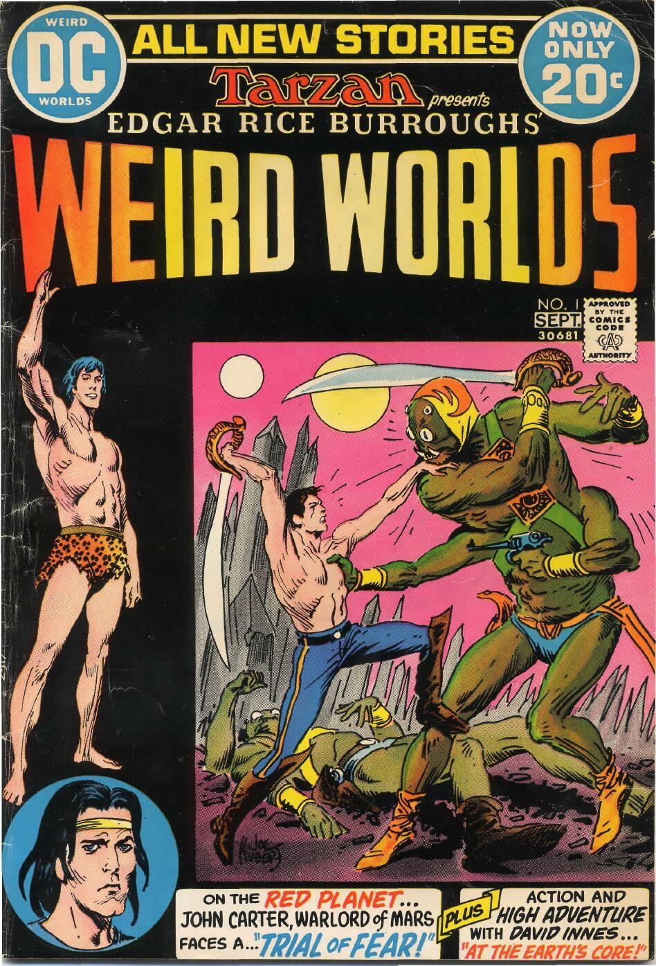 Weird Worlds (1972) 1 Page 1