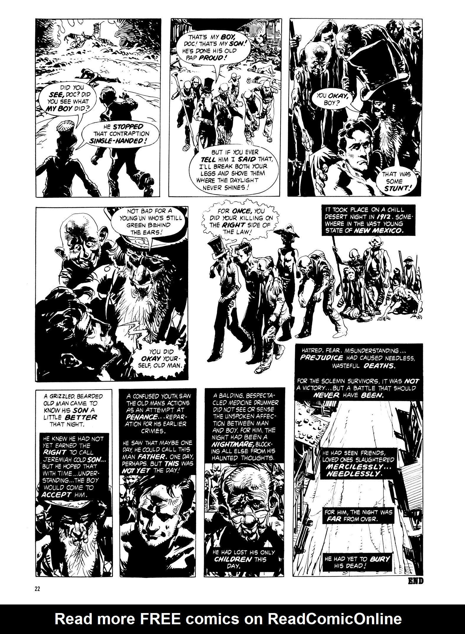 Read online Eerie Archives comic -  Issue # TPB 16 - 23