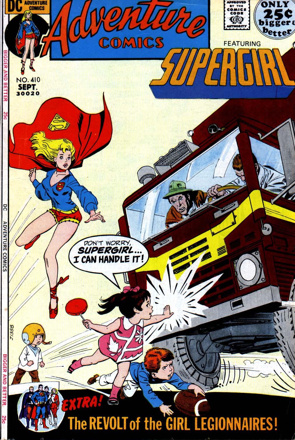 Adventure Comics (1938) 410 Page 1