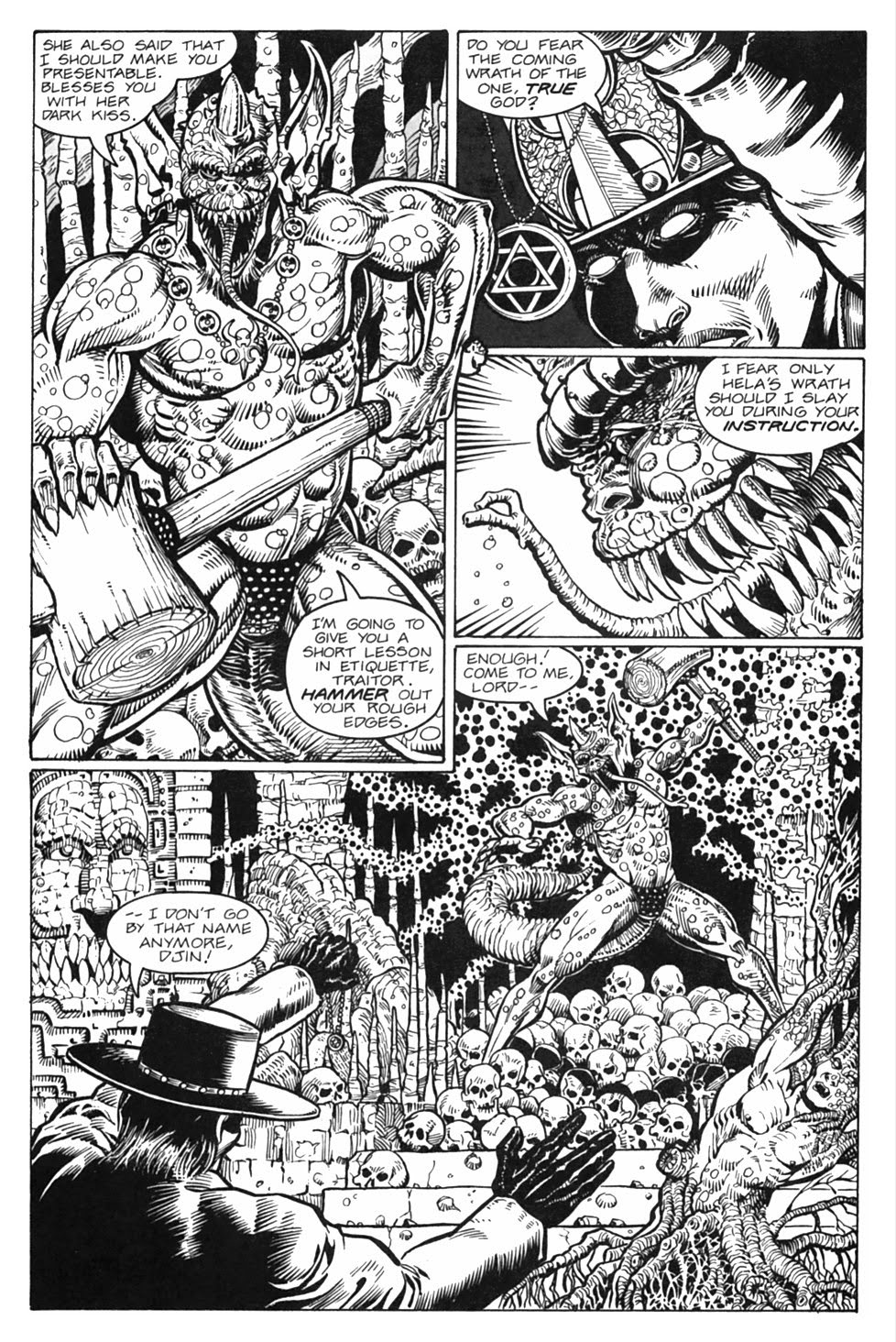 Read online Gunfighters in Hell comic -  Issue #3 - 14