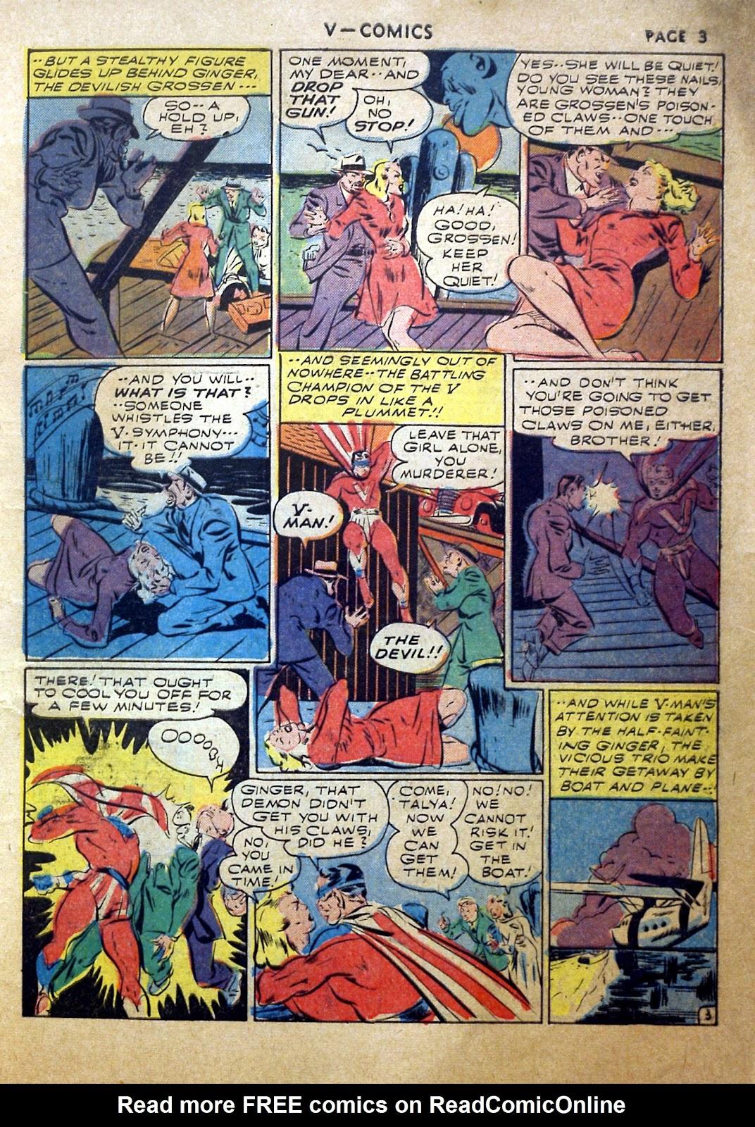 Read online V...- Comics comic -  Issue #2 - 4