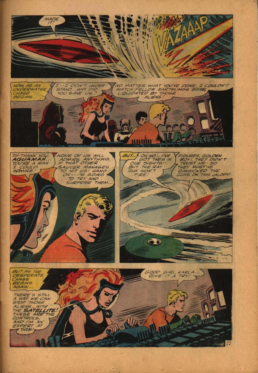 Read online Aquaman (1962) comic -  Issue #24 - 31