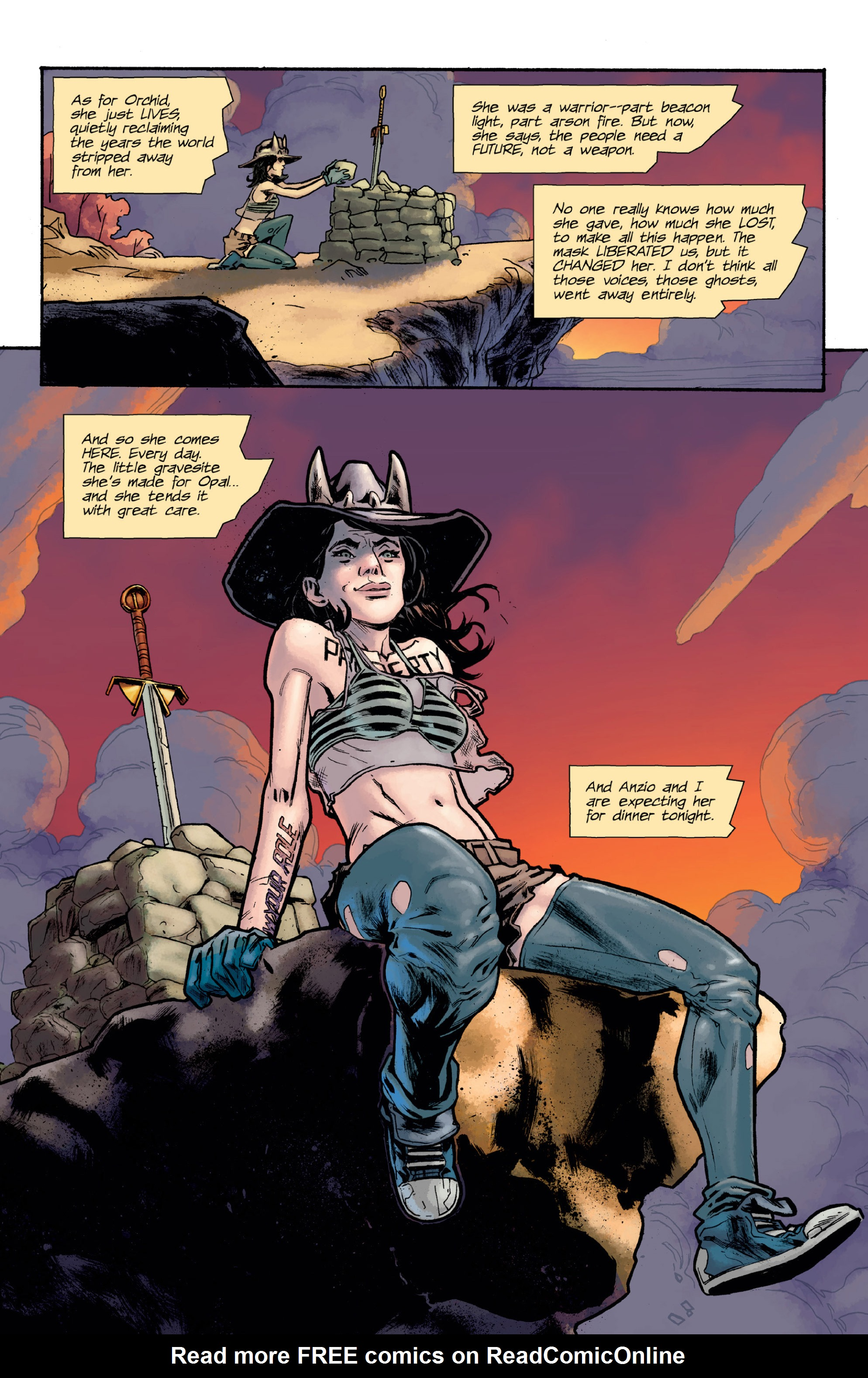 Read online Orchid comic -  Issue # TPB 3 - 105