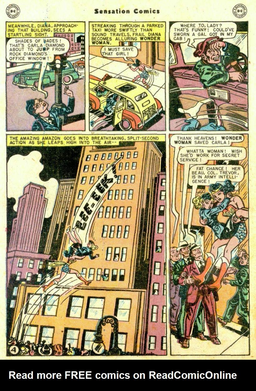 Read online Sensation (Mystery) Comics comic -  Issue #74 - 6