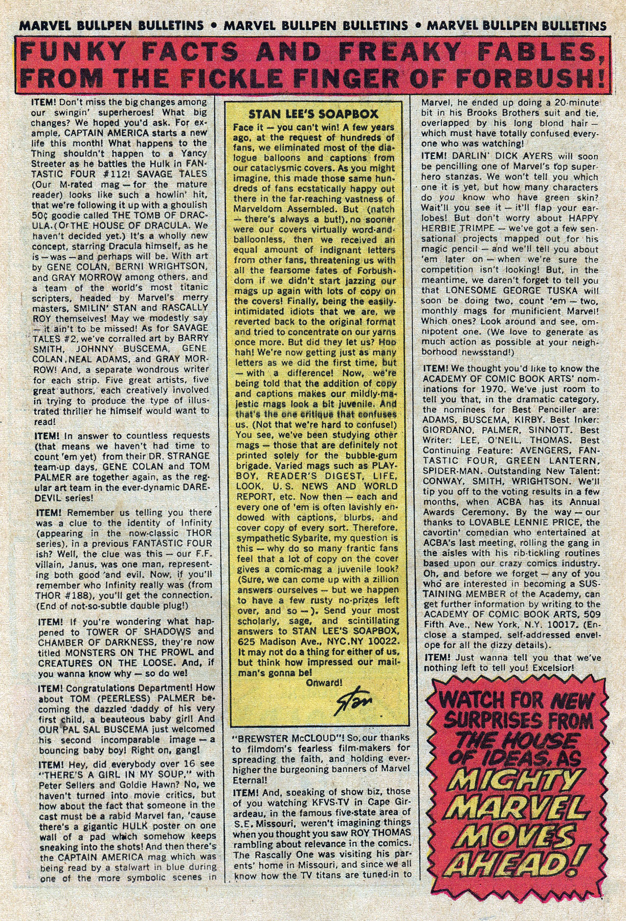 Read online Amazing Adventures (1970) comic -  Issue #7 - 31