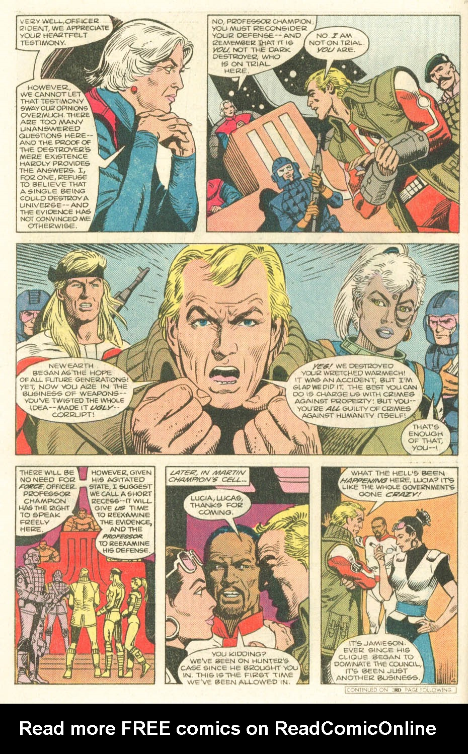 Read online Atari Force (1984) comic -  Issue #20 - 6